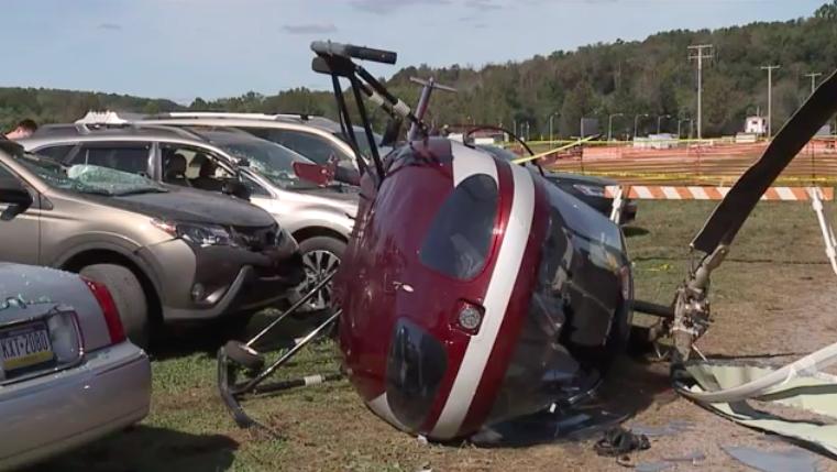 Helicopter spun twice before crashing at Bloomsburg Fair: NTSB report