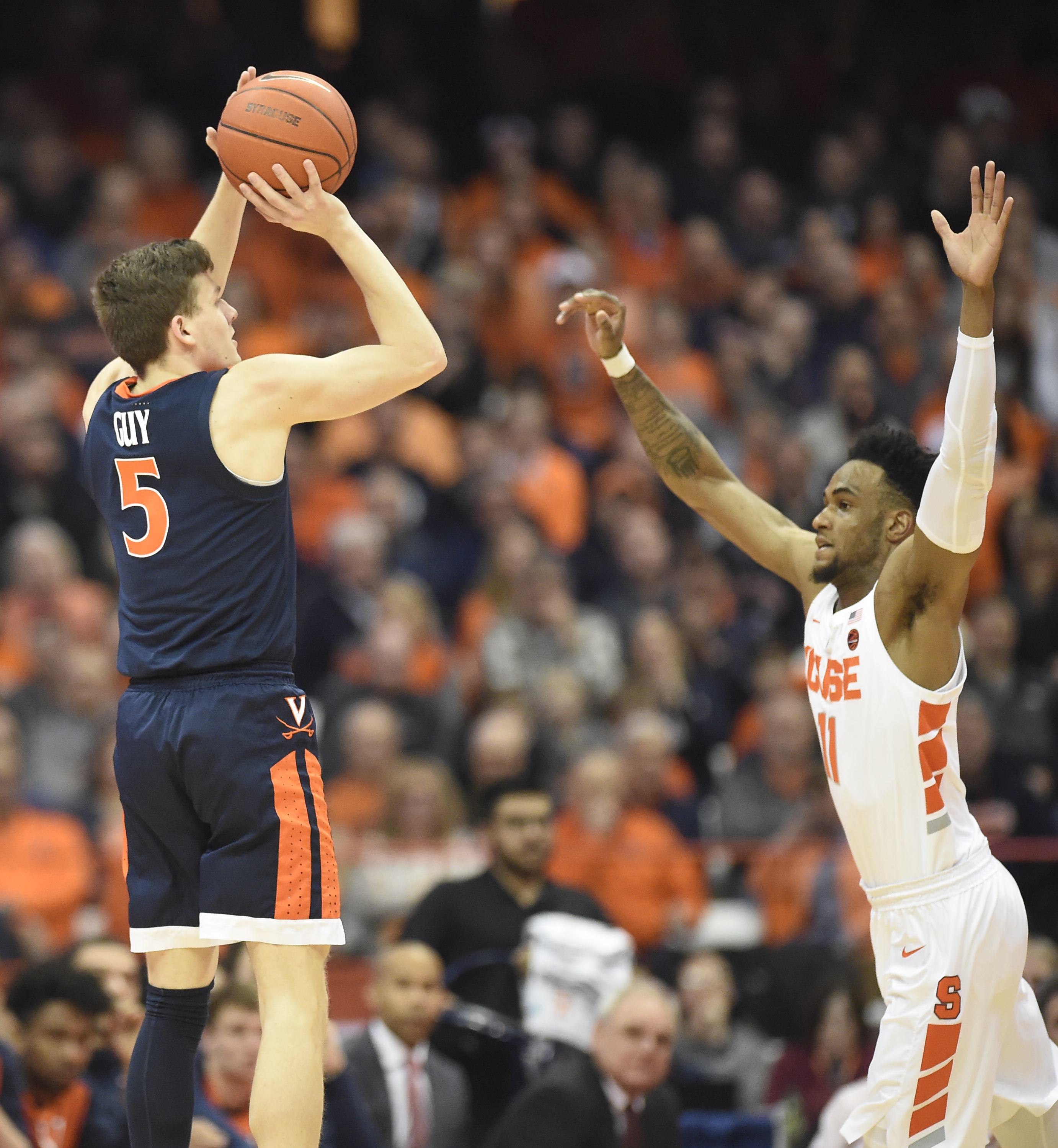 Will NCAA's new 3-point line help or hurt Syracuse and its zone defense?