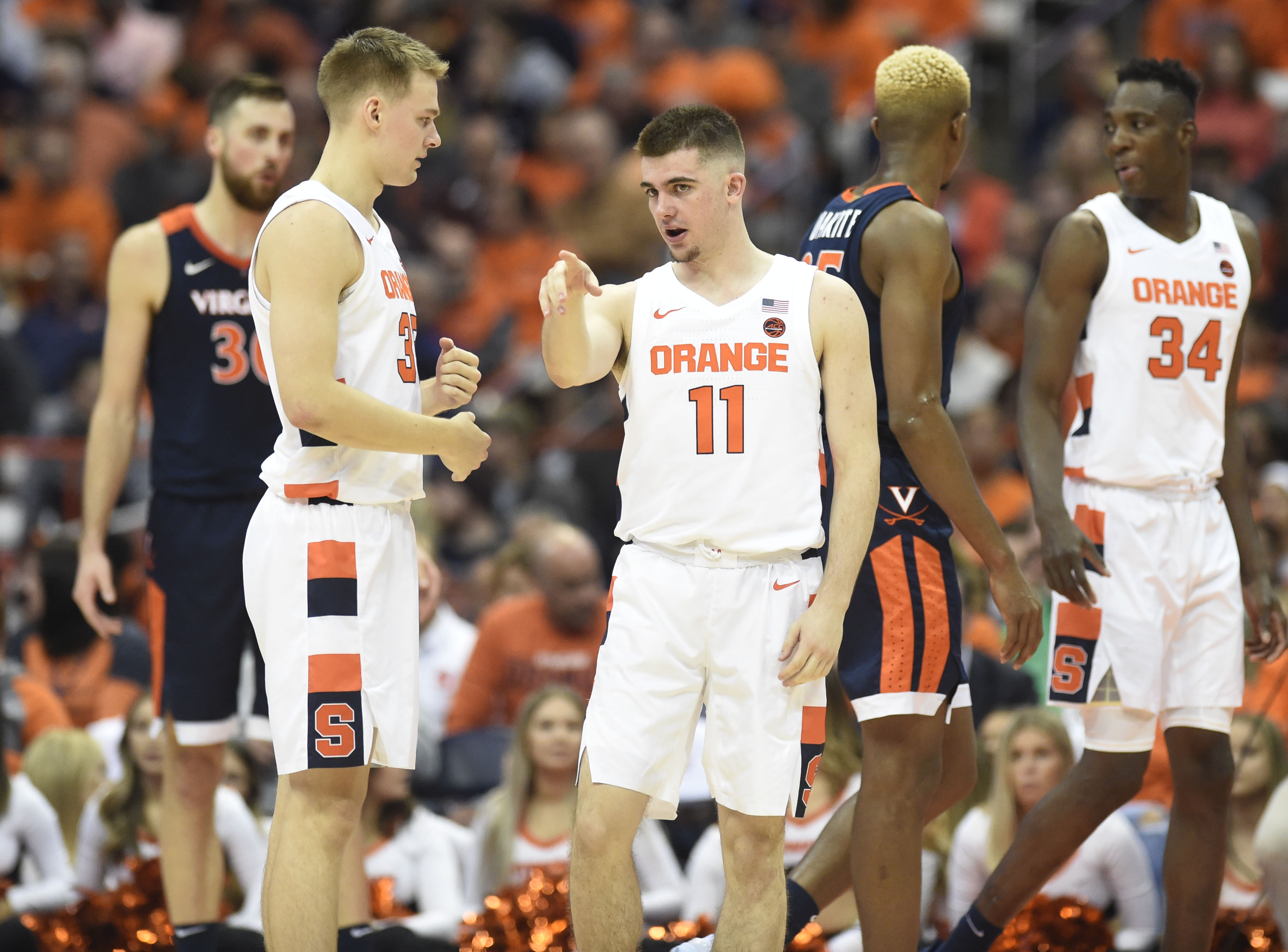 Syracuse Basketball Combination Of Near Historic Schedule