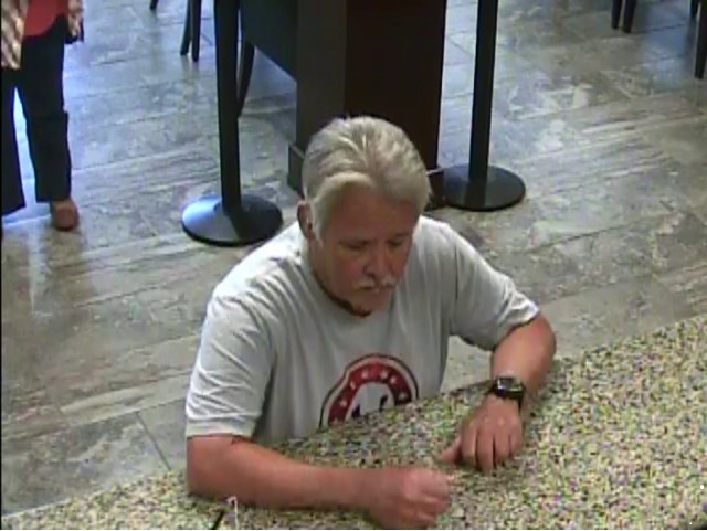 Police are searching for a man who robbed Regions Bank in Hoover on Monday, Oct. 22, 2018.