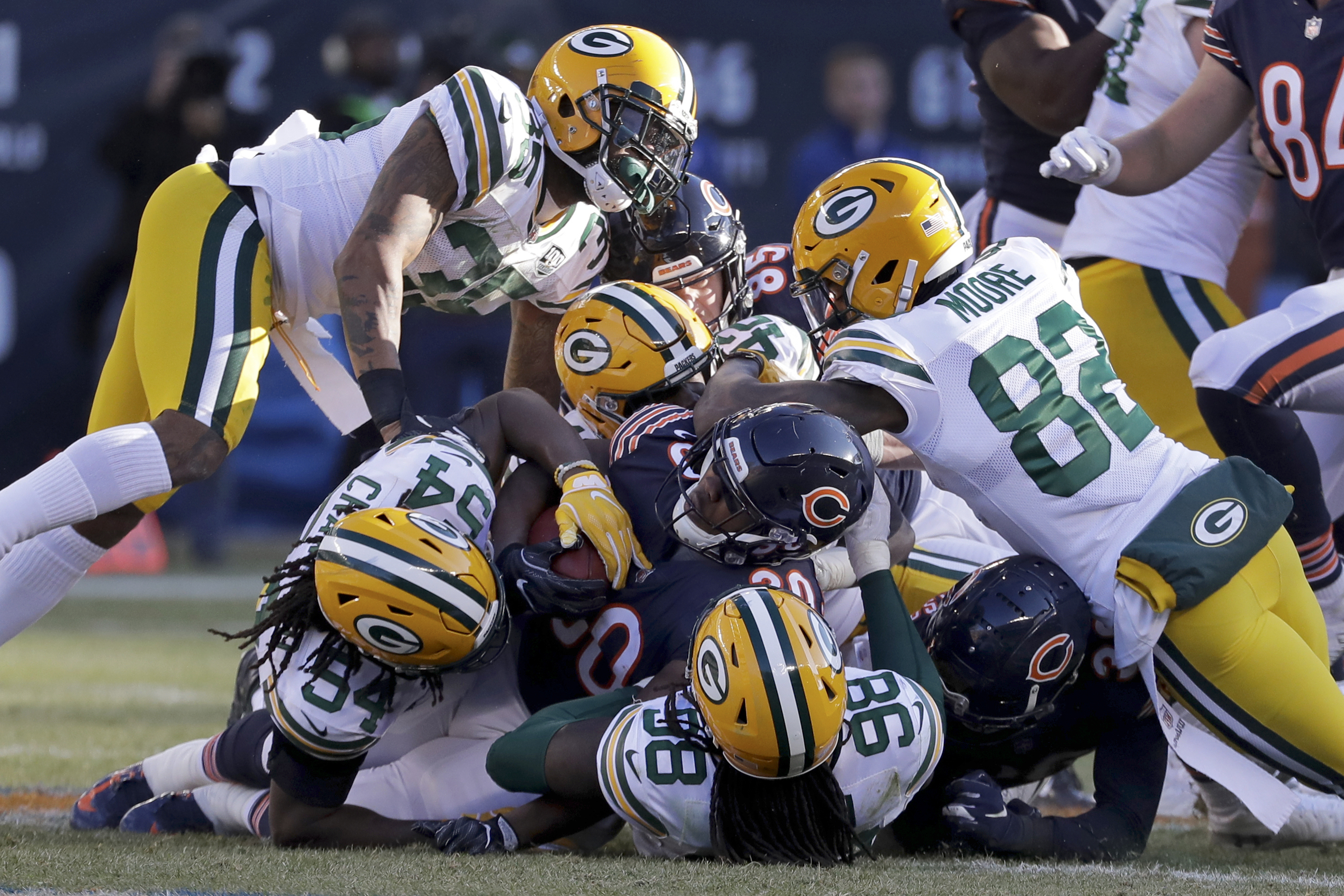 Bears Vs Packers Live Stream Tv Channel Start Time Odds