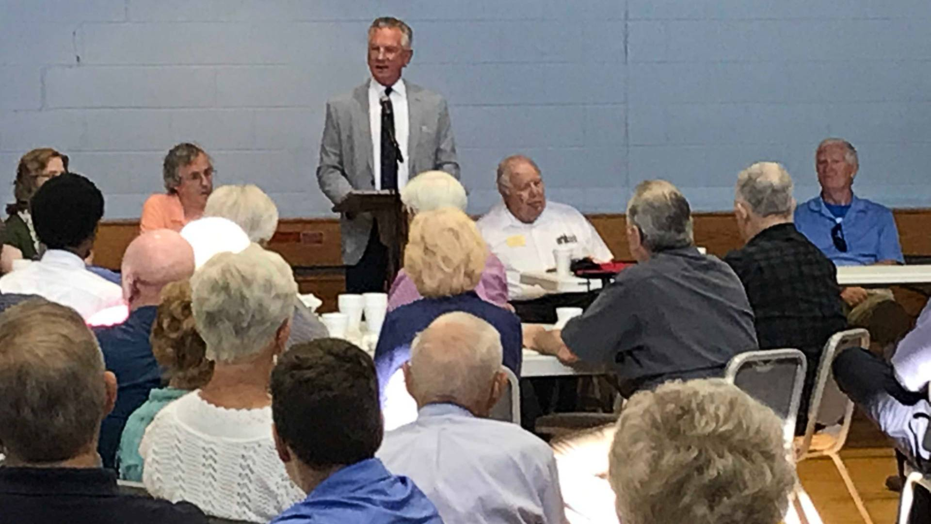 Trump 'saved this country,' Tuberville says in Senate campaign stop