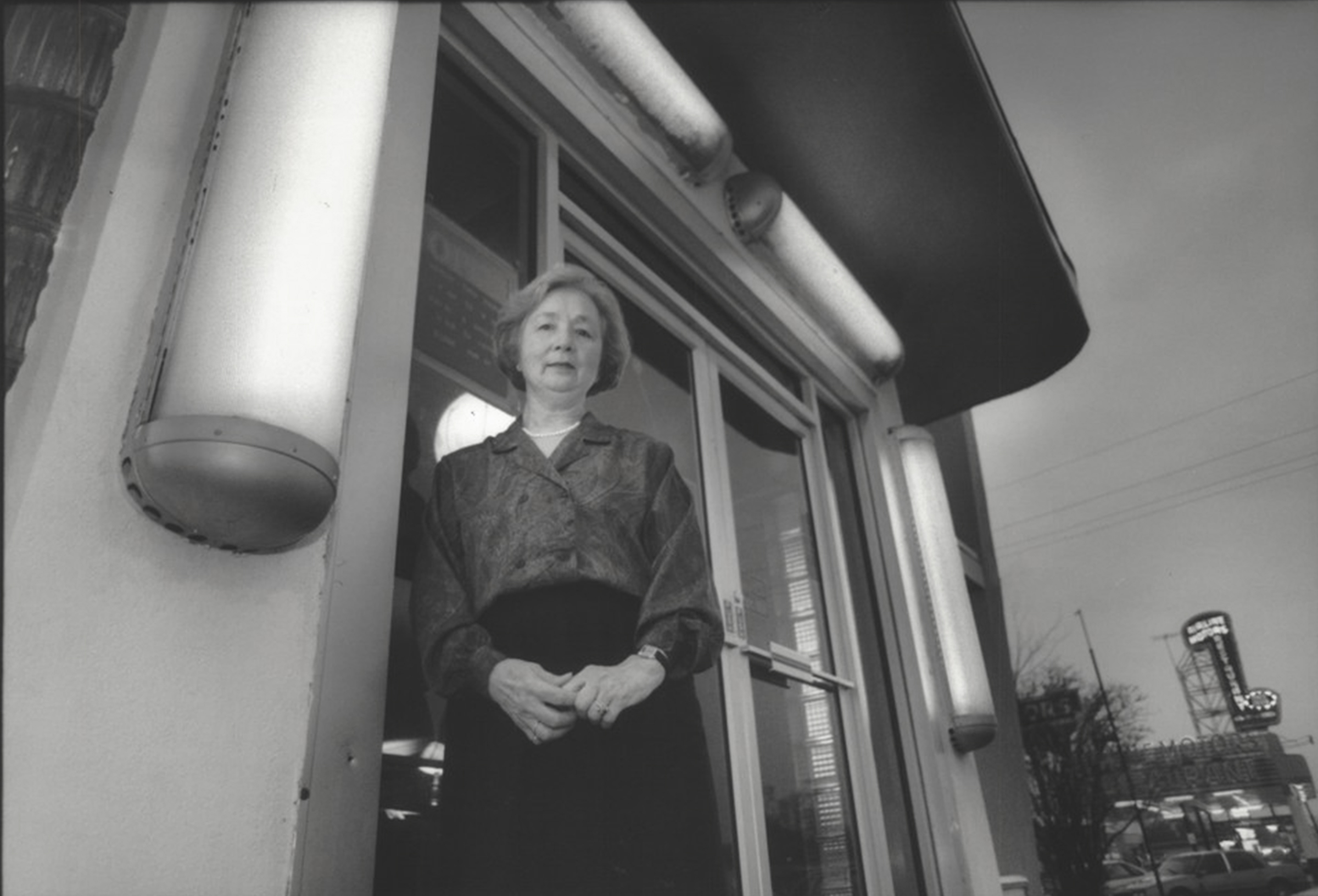 Coo Hachet's family owned and operated the now defunct Roussel's Restaurant. The restaurant was in its heyday when Airline Highway was the main road west from New Orleans. She stands in front of the building on Airline Highway that, in 1992 when this photo was taken, was the Garden Wong. (Photo by Leslie White, NOLA.com | The Times-Picayune)
