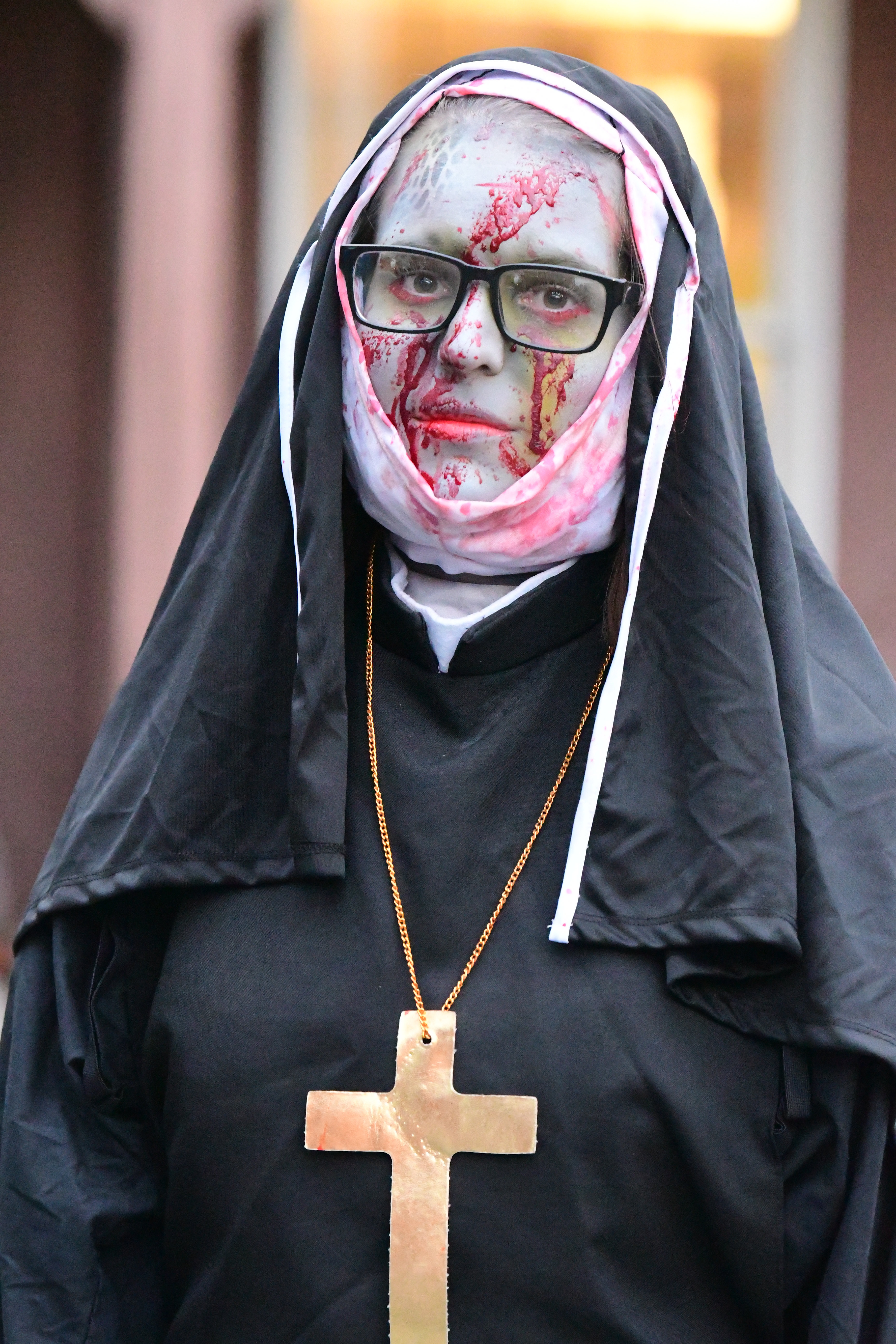 My night as a dead nun at the historic haunted Red Mill