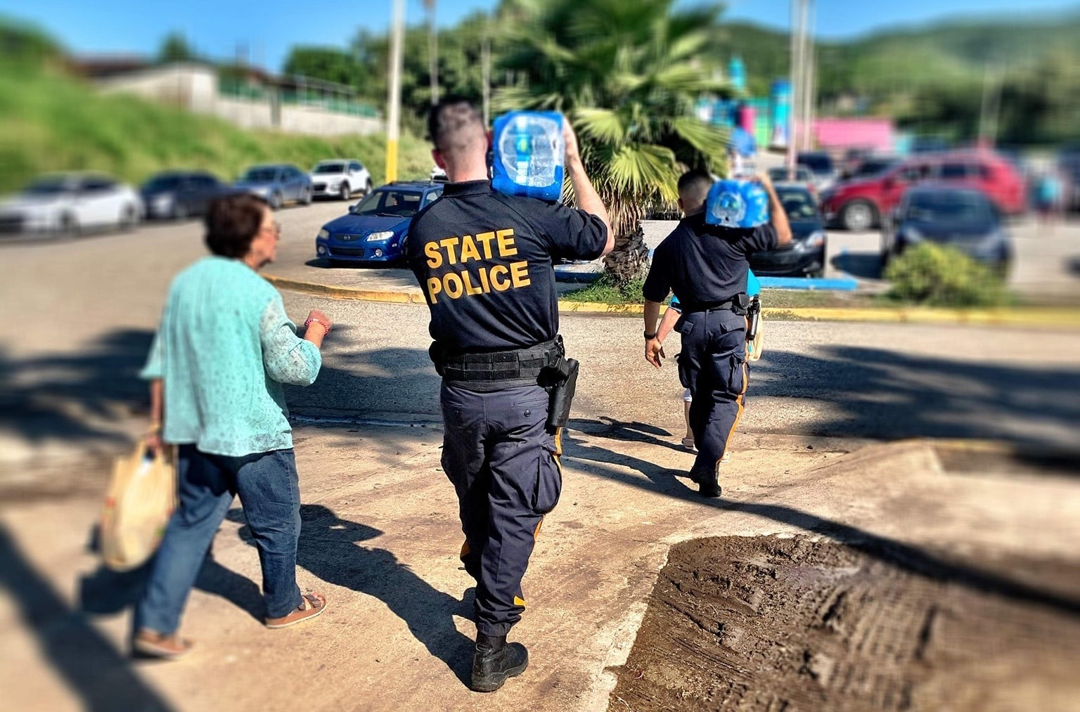 N.J. troopers help Puerto Ricans face the earthquakes that just keep coming