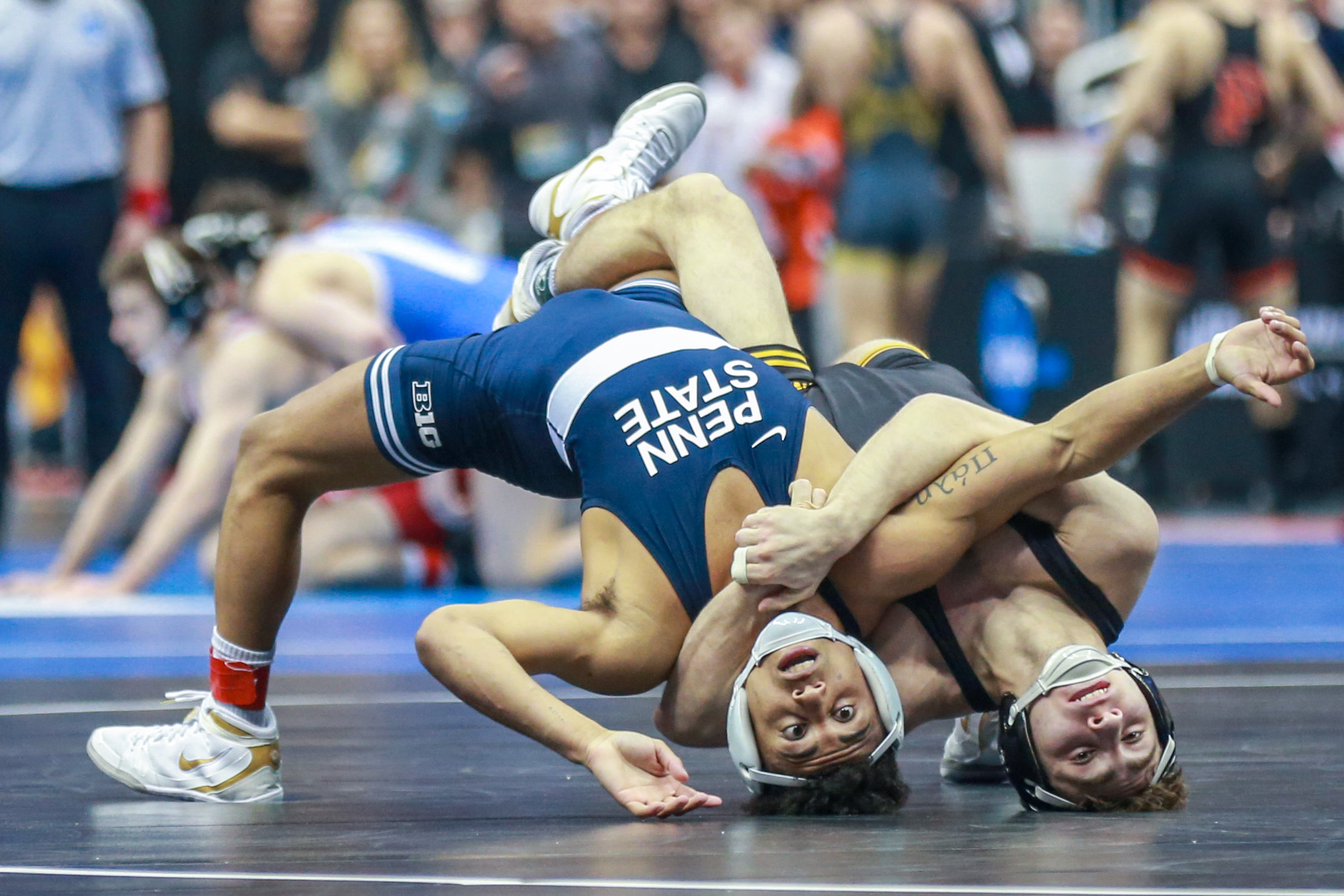 NCAA Wrestling Championships: See photos as Penn State earns a Day 1 lead
