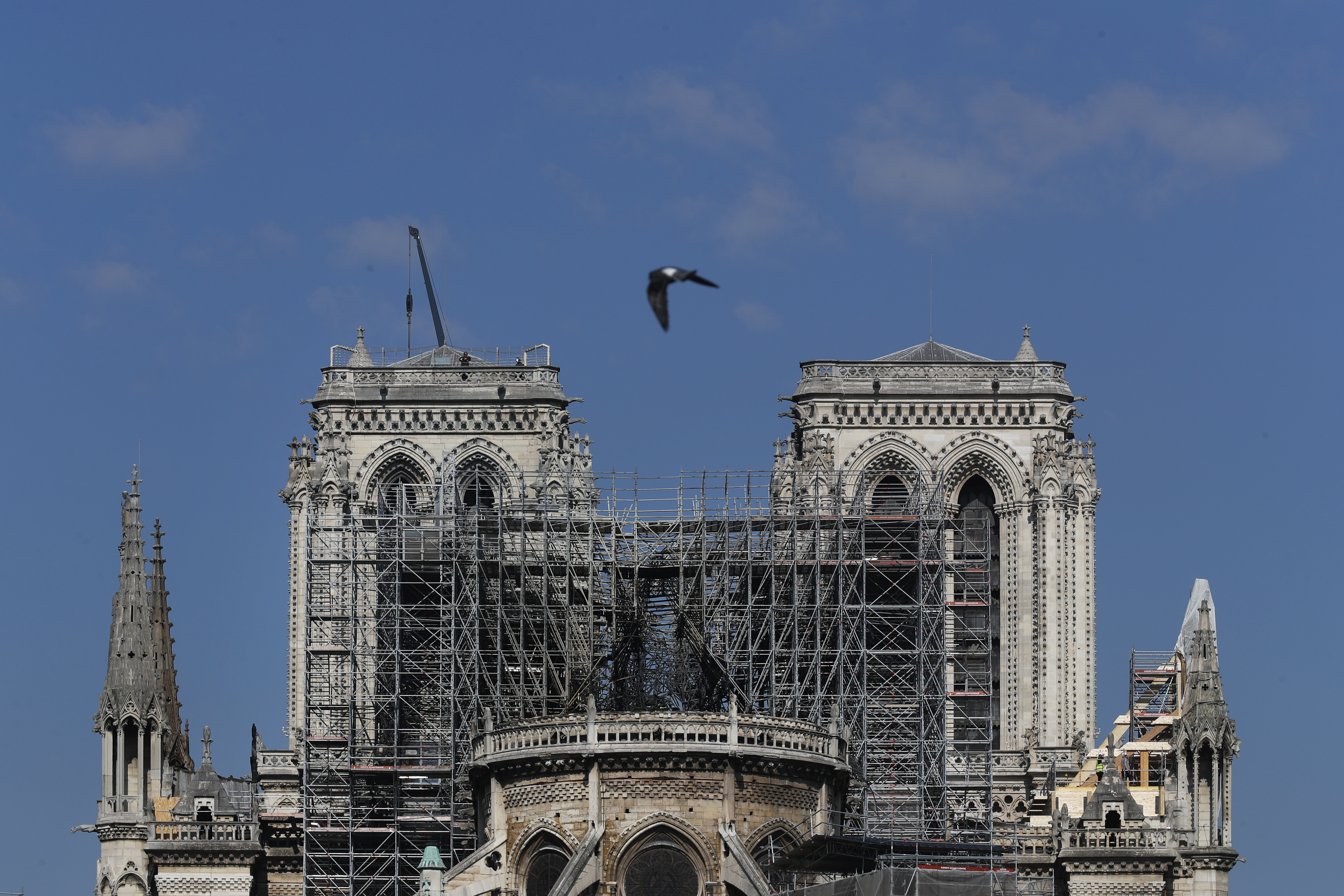 With Notre Dame cathedral stabilized and firefighters gone, debate begins over how to rebuild