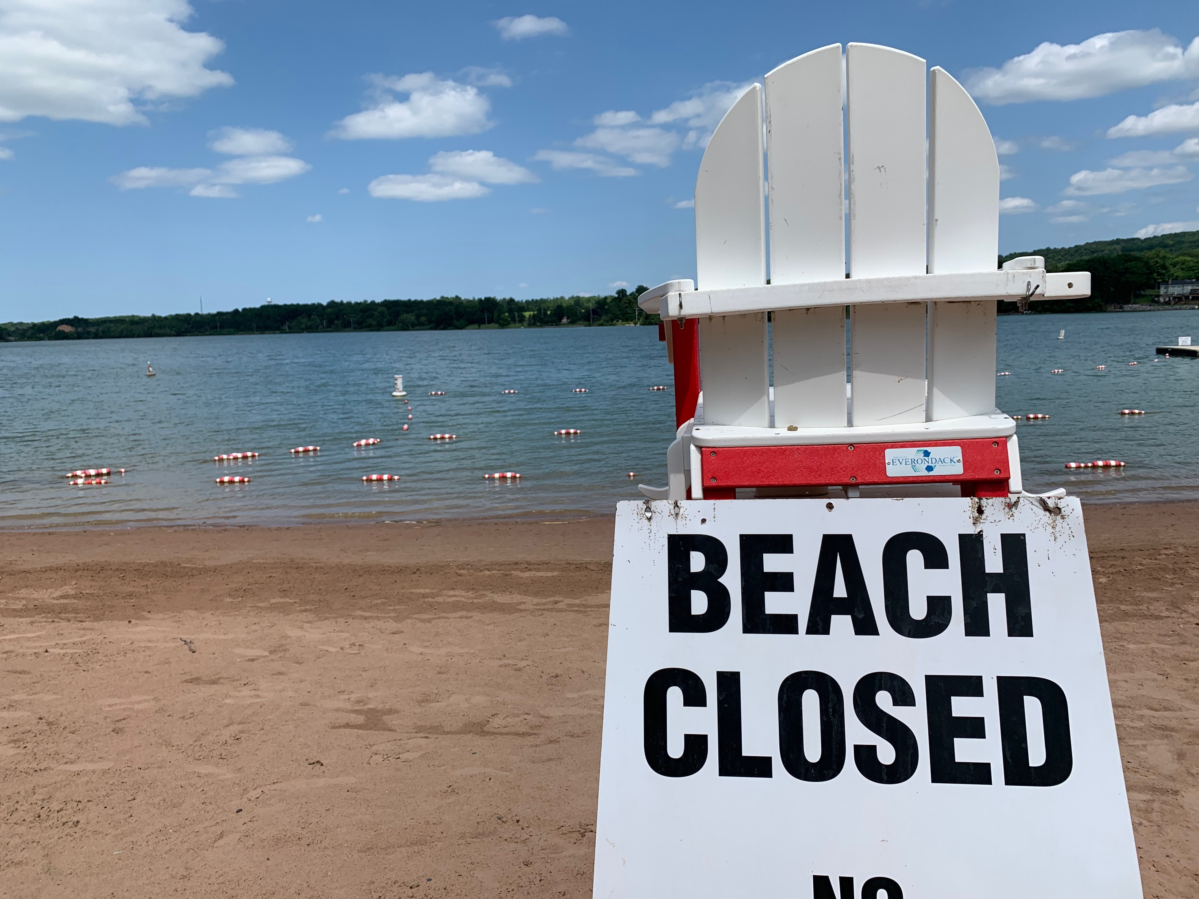 Garage Sale Mystery The Beach two cny beaches closed to swimming due to algae blooms