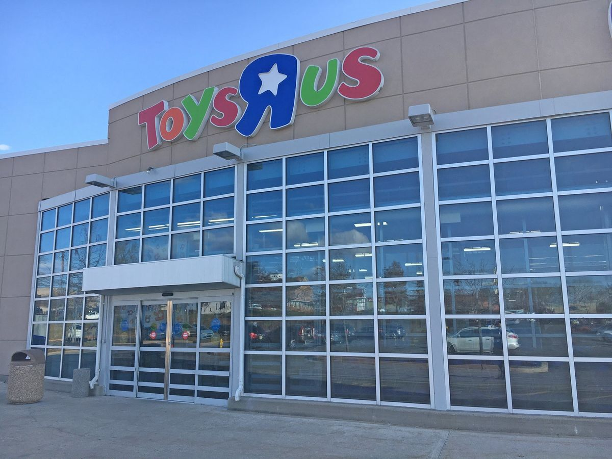 Mystery company buys sprawling Toys R Us campus, lovable giraffe not included