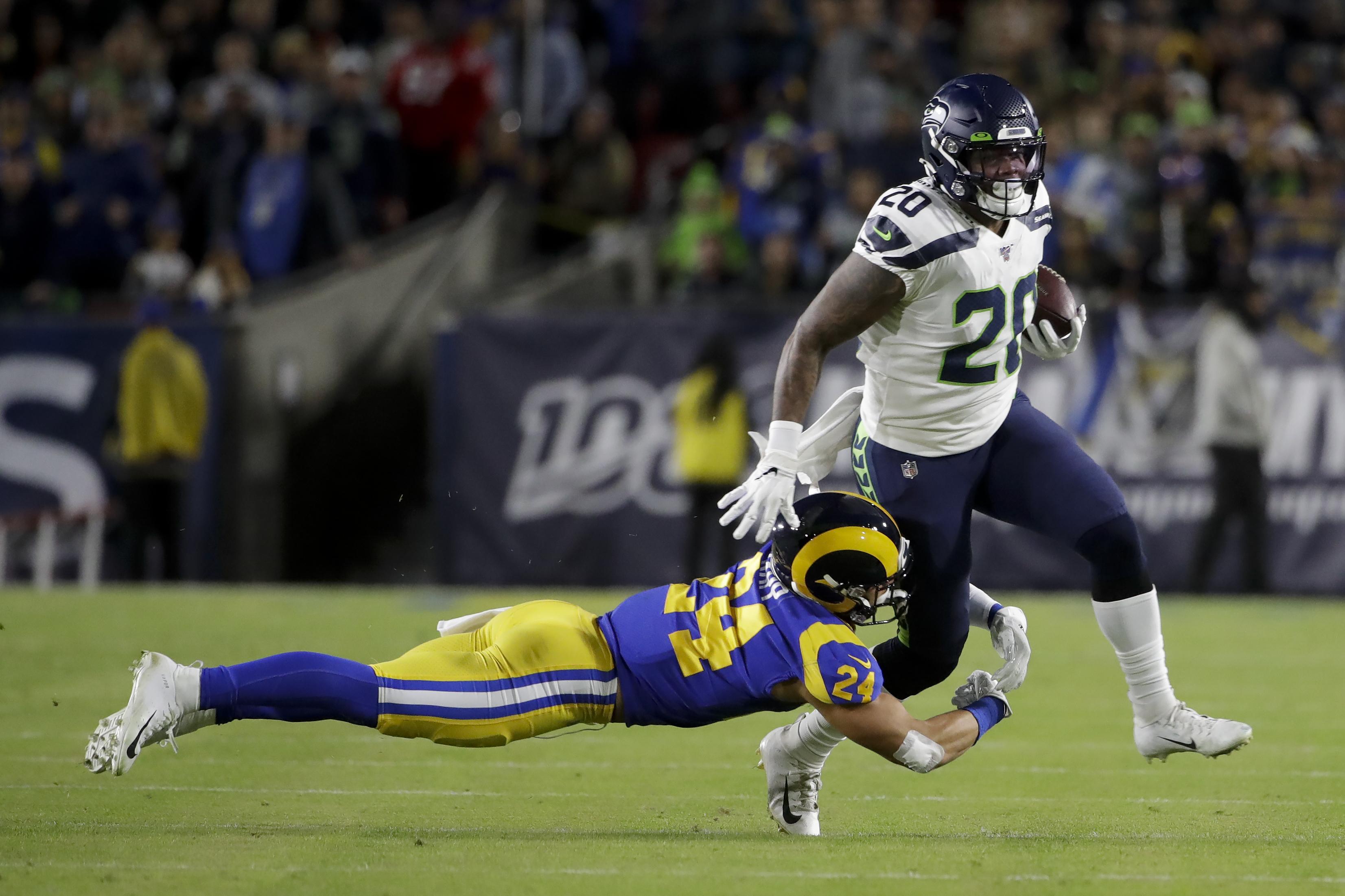 Seattle Seahawks Vs Los Angeles Rams Sunday Night Football