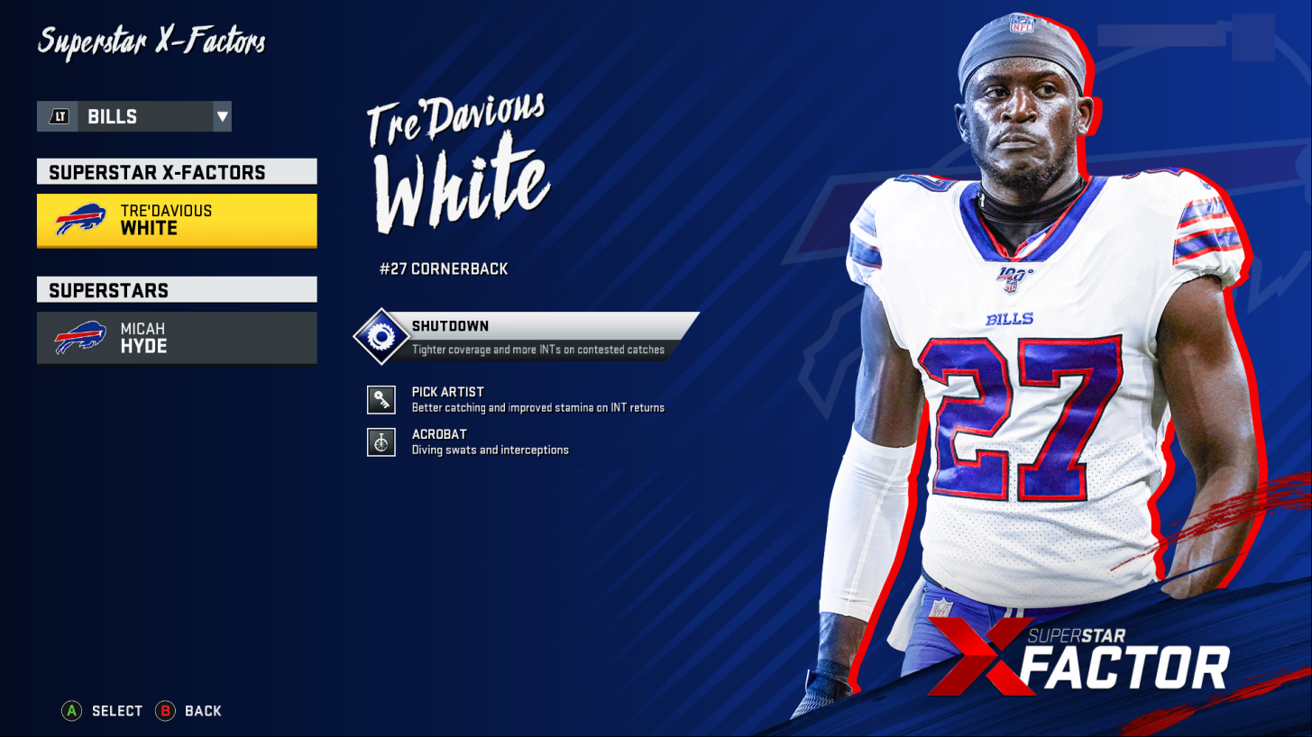 Tre'Davious White Jersey