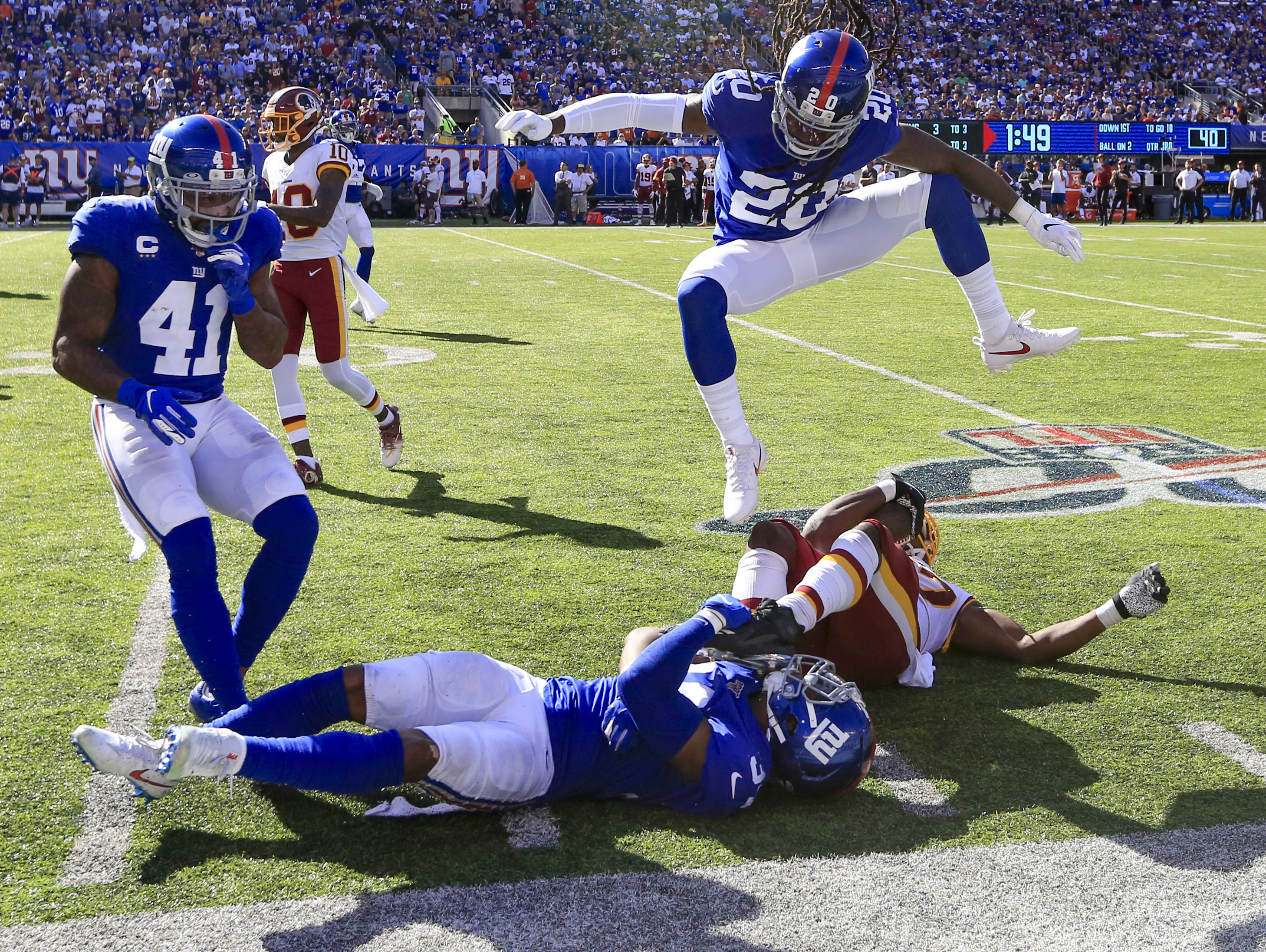 NFL rumors: If the Giants are sellers at trade deadline, here are 3 deals that make sense | Janoris Jenkins to Chiefs?