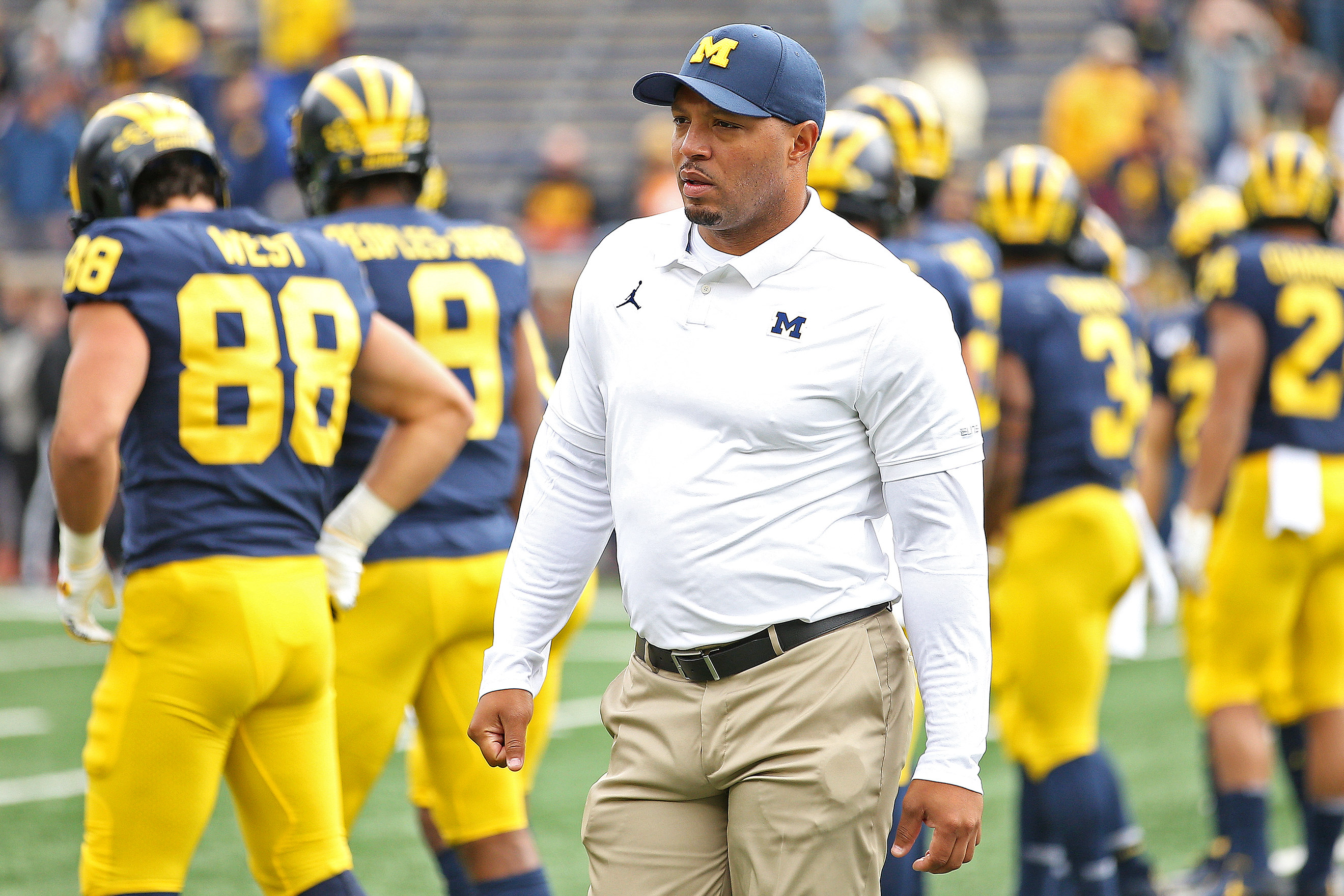 Penn State and Michigan prep for a Whiteout: A Penn State coach returns, Noah Cain goes for the hat trick, more key storylines