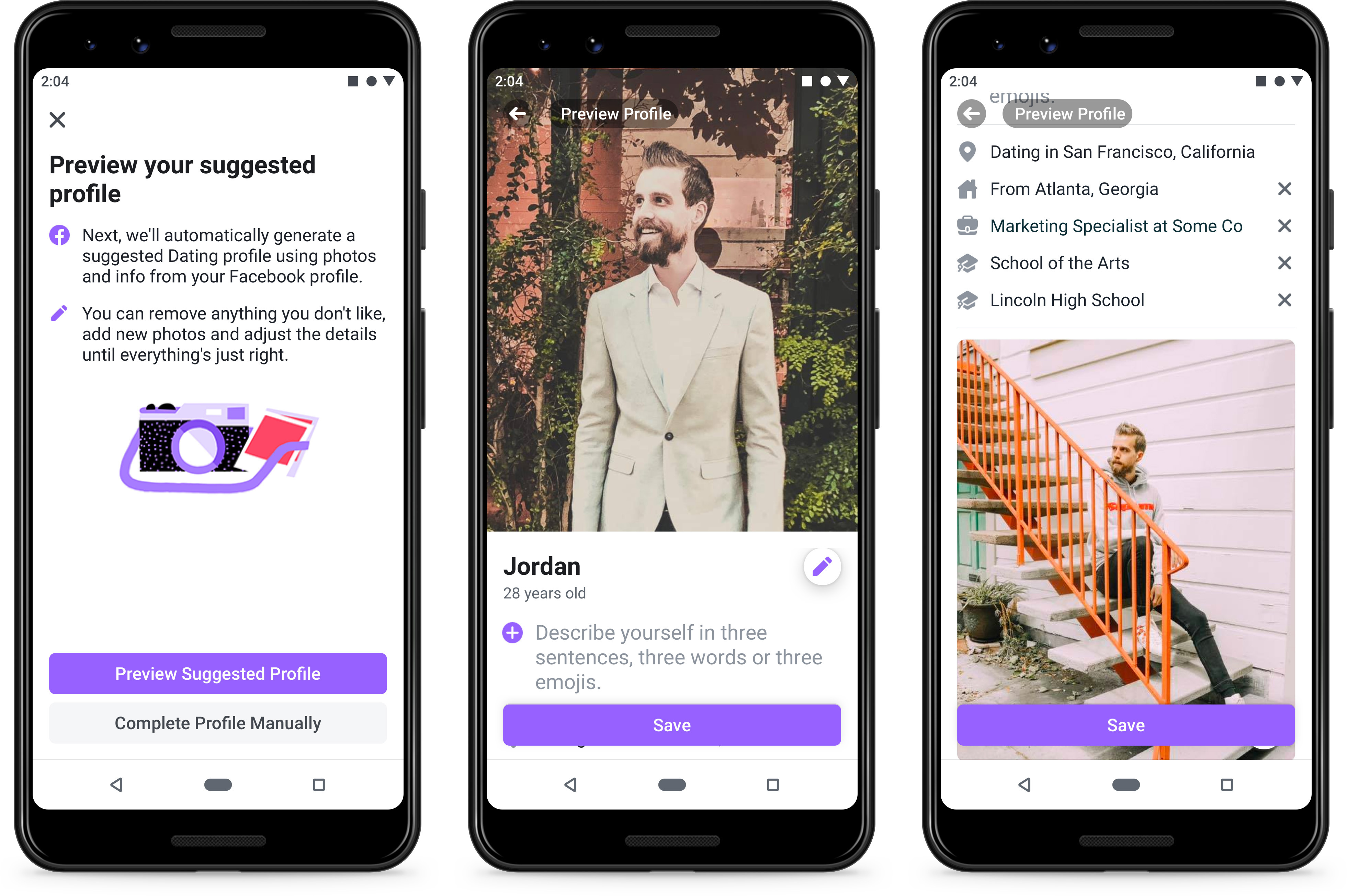 Facebook launches a dating service, is one step closer to