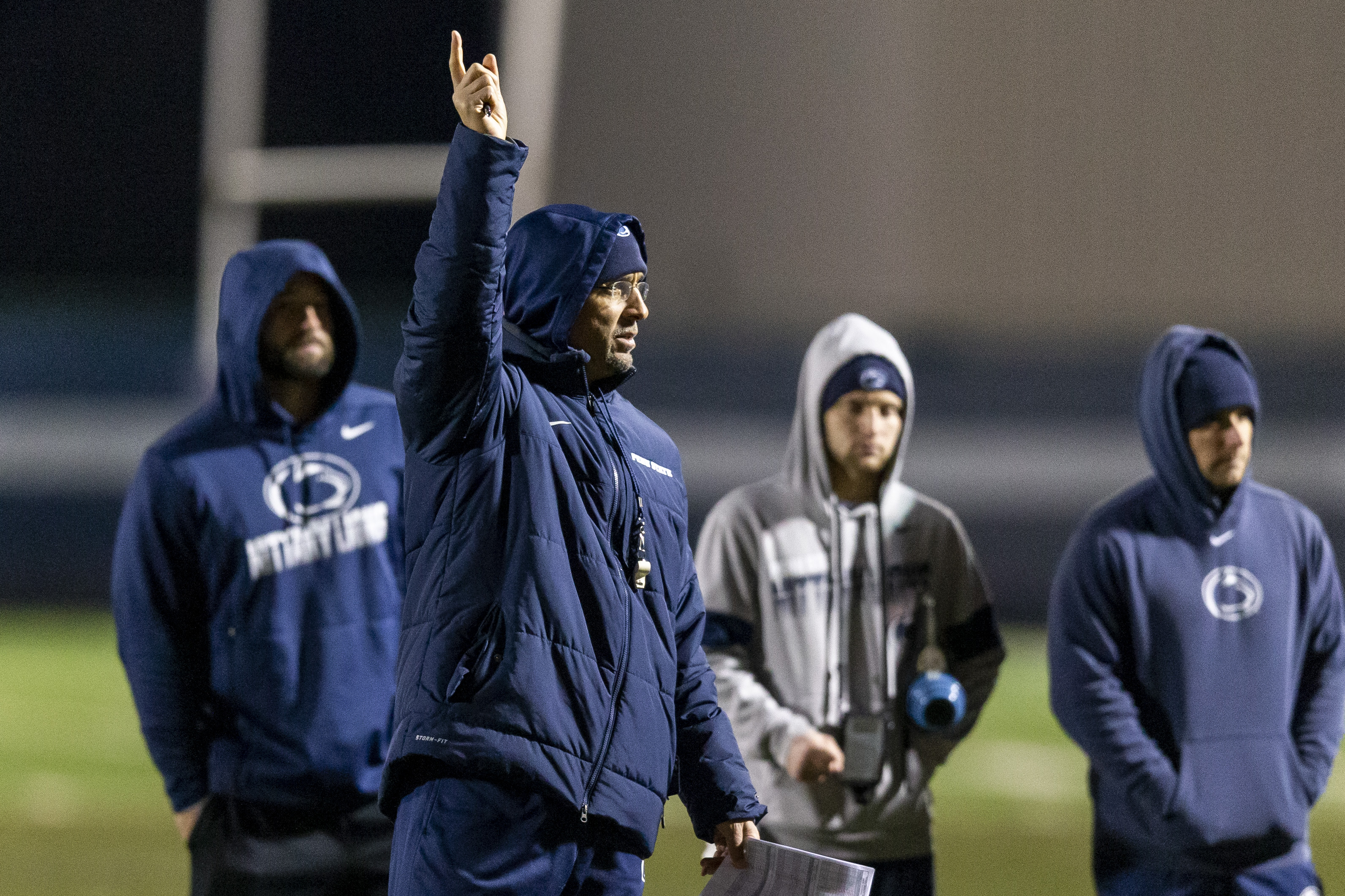 Penn State's James Franklin discusses some of the challenges of interacting with the Nittany Lions' spirited fan base