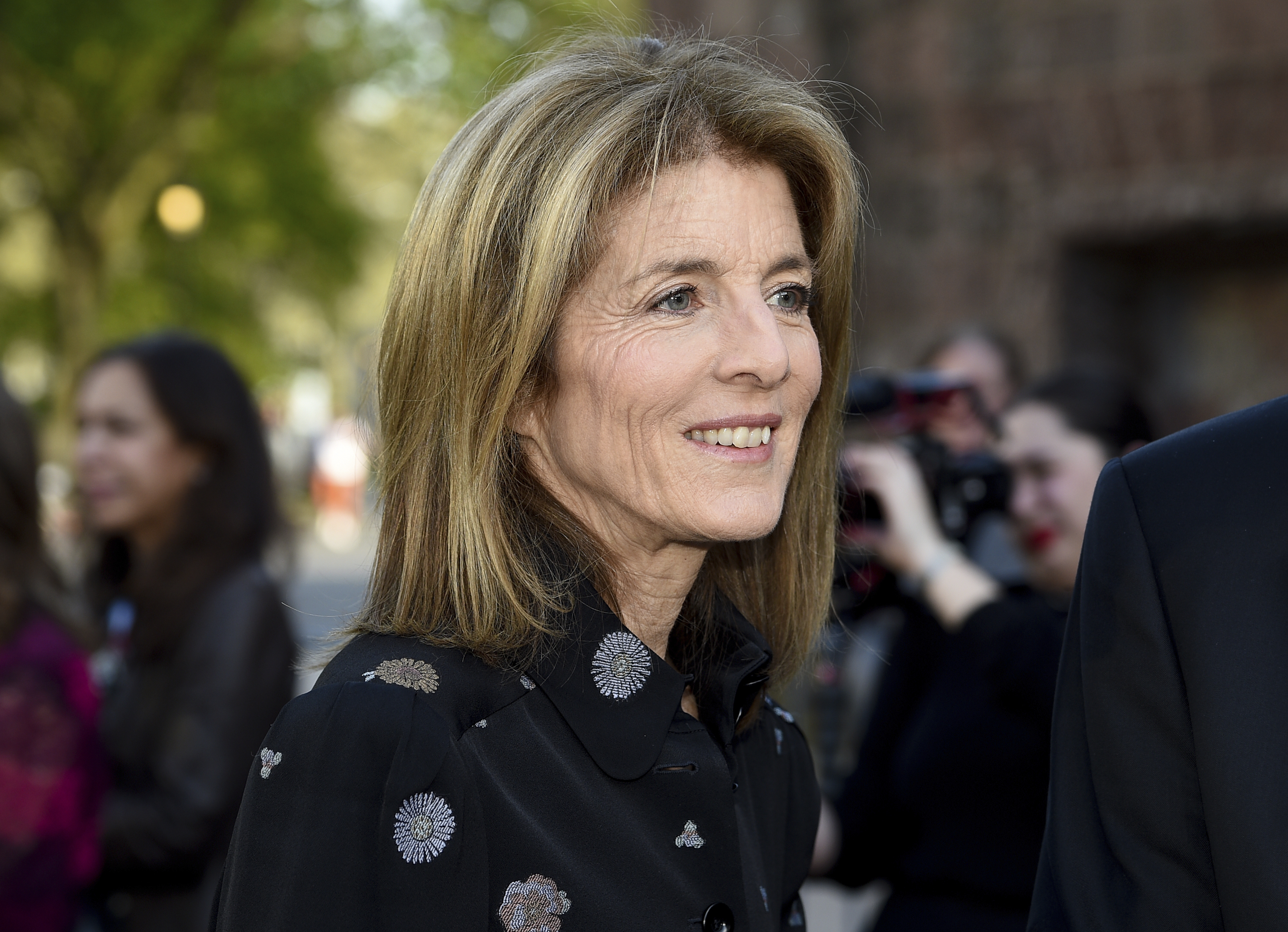 Caroline Kennedy Daughter Of Jfk Resigns From Post At Harvard