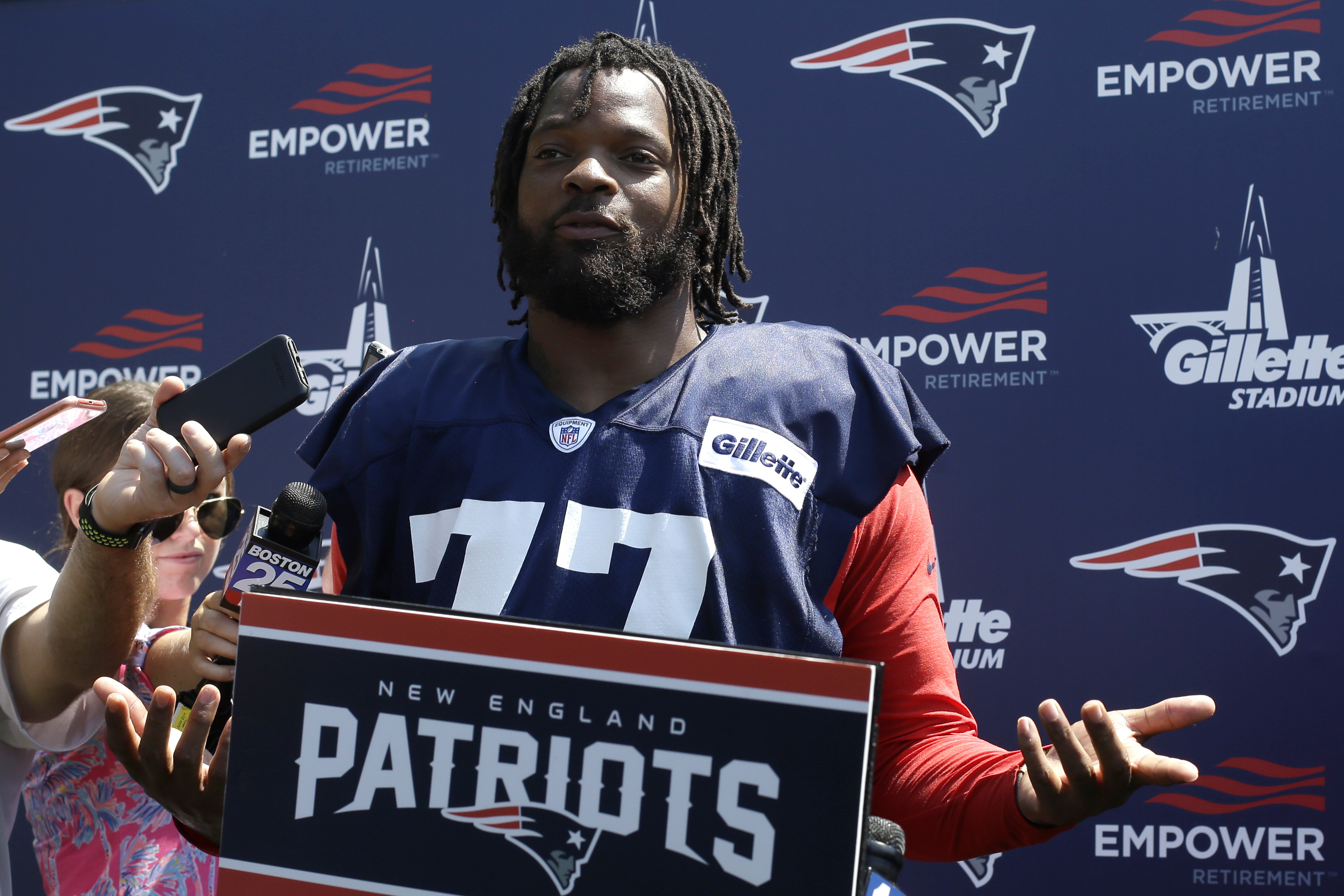 Former Eagles roundup: Patriots suspend Michael Bennett, Jets sign Blake Countess, Donnel Pumphrey selected in XFL Draft, more