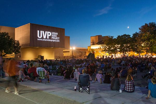 Films Under the Stars at the Everson