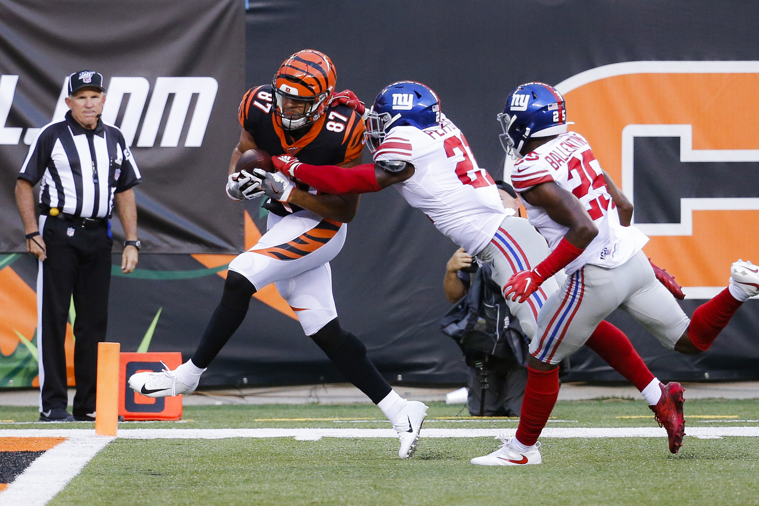 9 observations on Giants starters: Jabrill Peppers or Landon Collins? Offensive line wins battles vs. Bengals