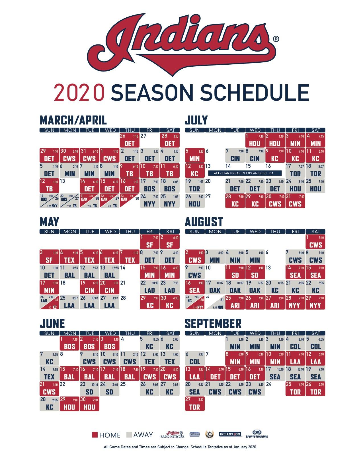 Mlb schedule 2020 regular season