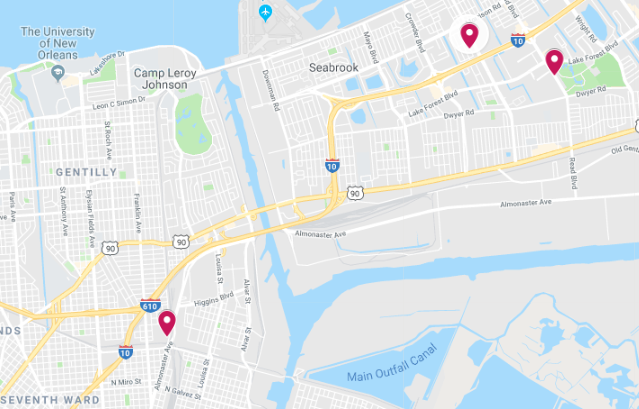 New Orleans police reported two incidents of aggravated battery and an aggravated burglary in the crime log from Wednesday (Oct. 17) to Thursday (Oct. 18).