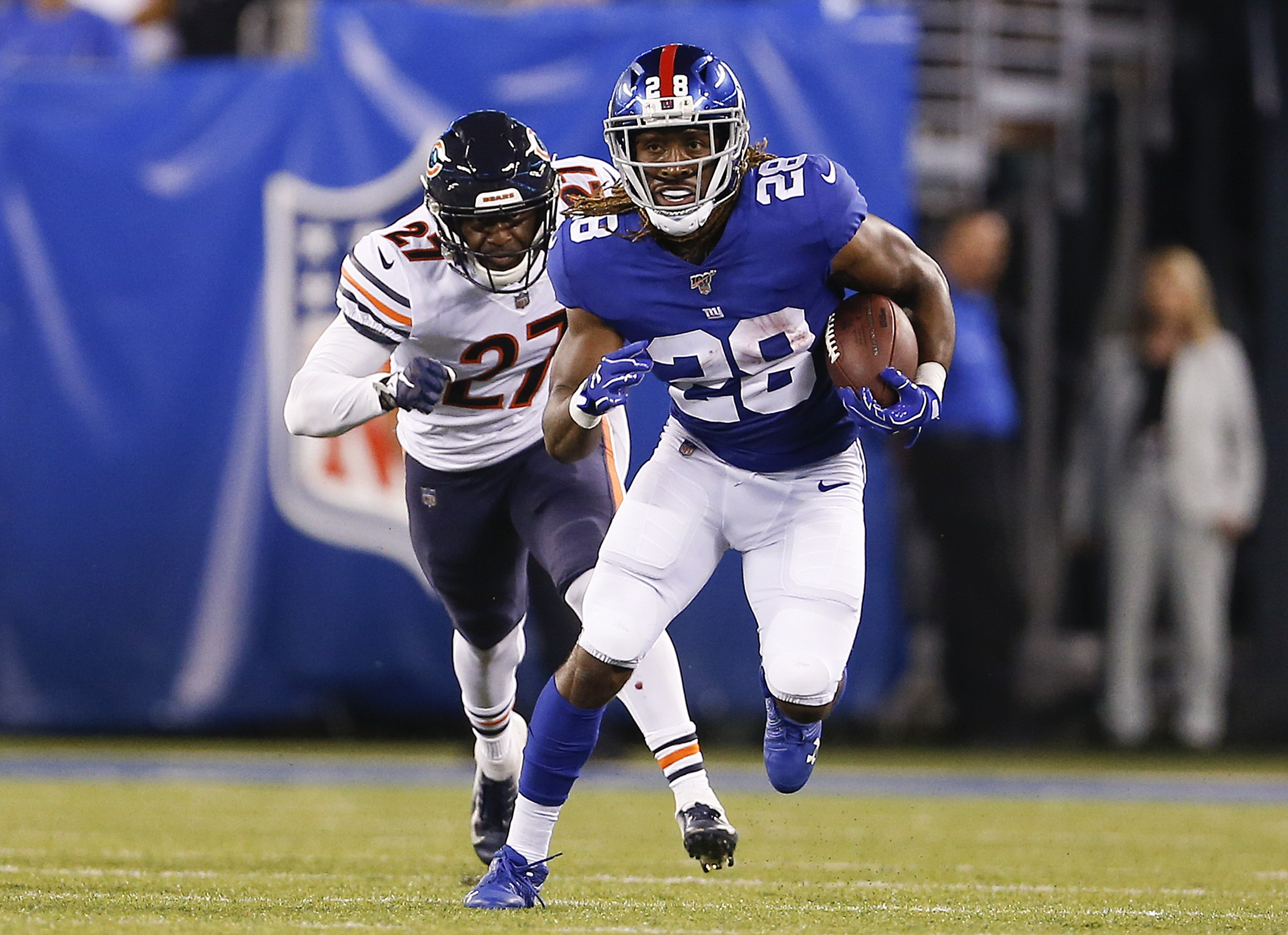 Detroit Lions waive RB Paul Perkins, awarded RB Tra Carson from Packers