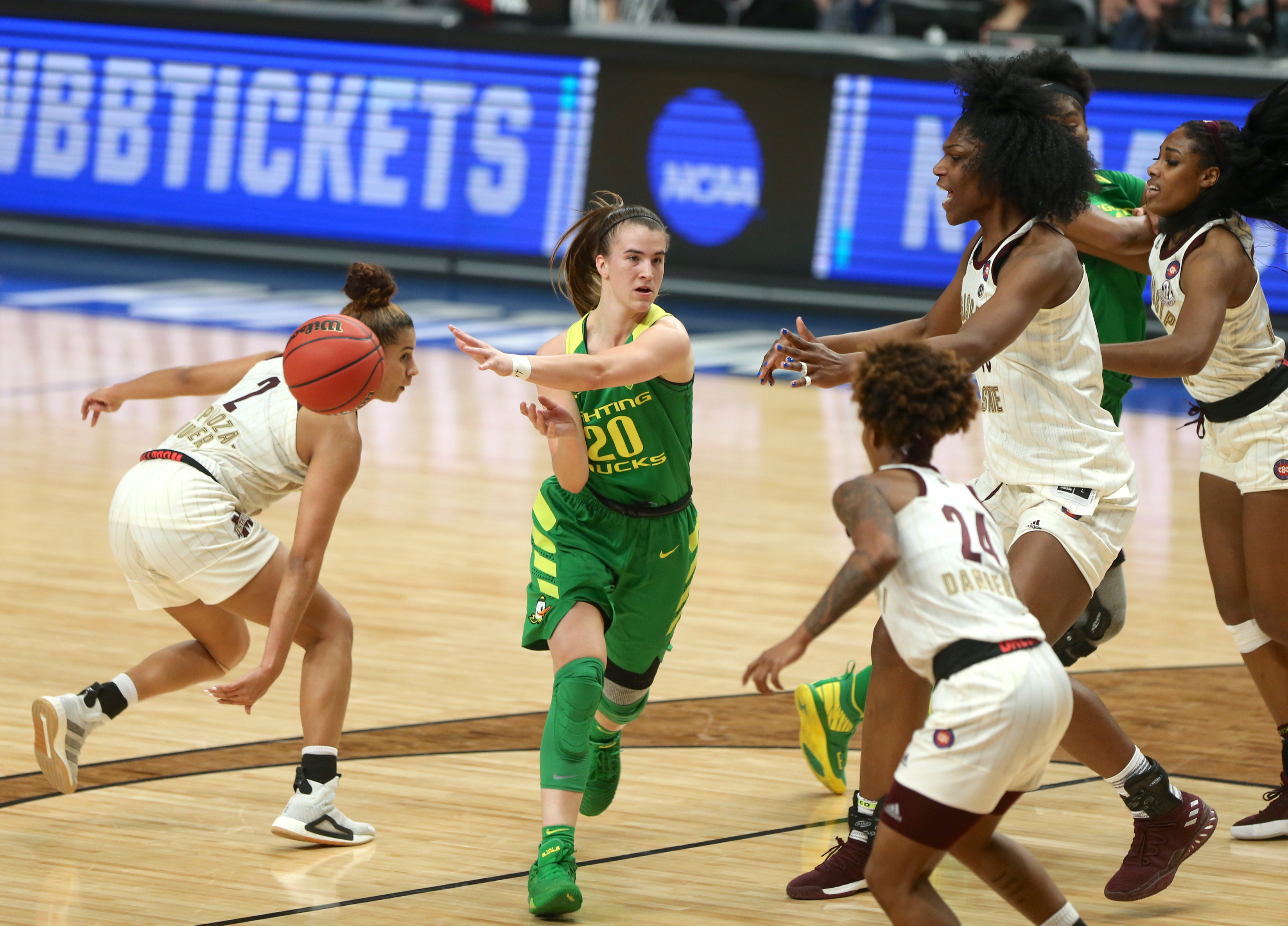 Oregon Ducks are coaches preseason pick to win Pac-12 women's basketball in 2019-20, Oregon State third