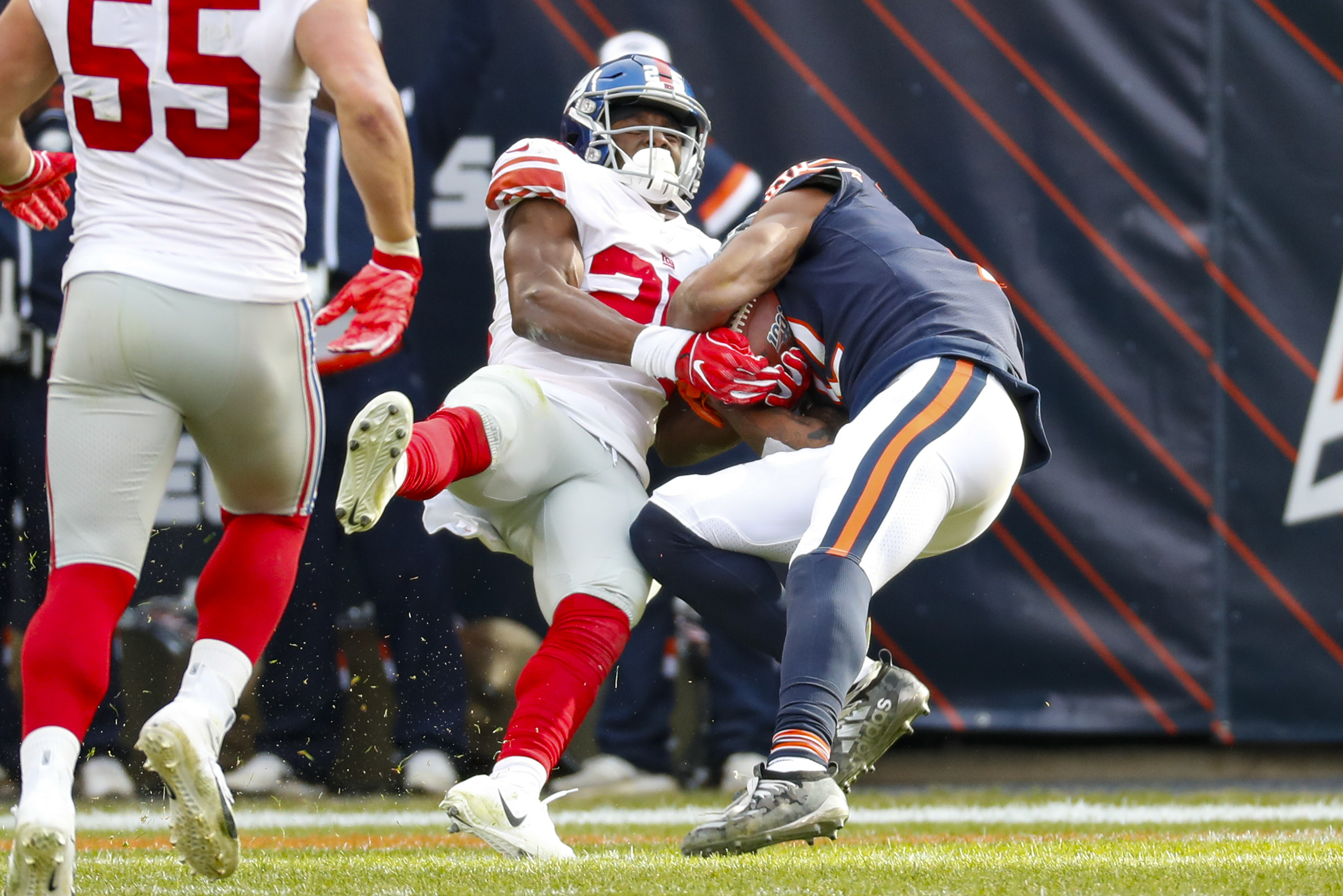 Chicago Bears Struggle To Defeat The New York Giants Recap
