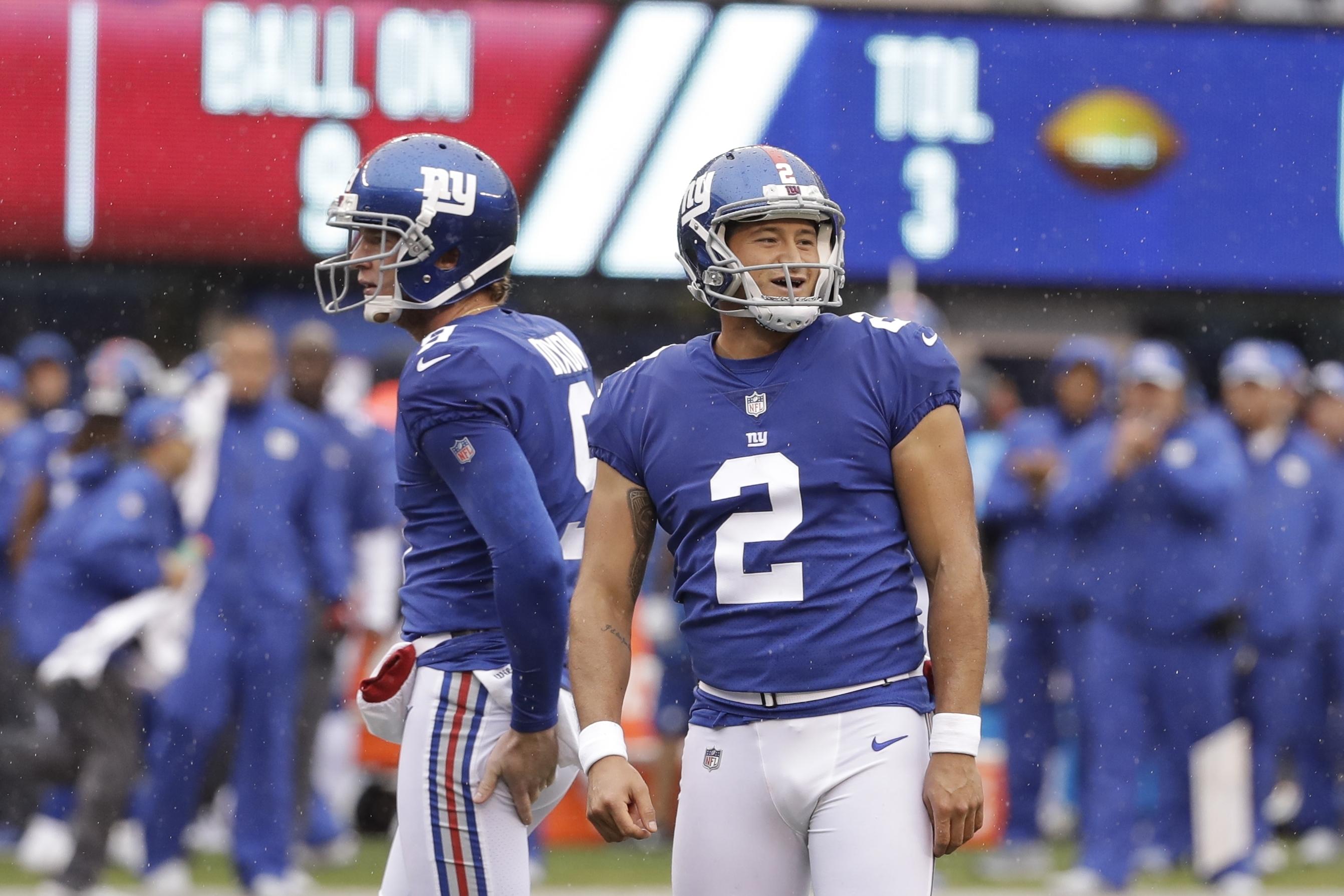 Aldrick Rosas New York Giants NFC Pro Bowl Game Jersey
