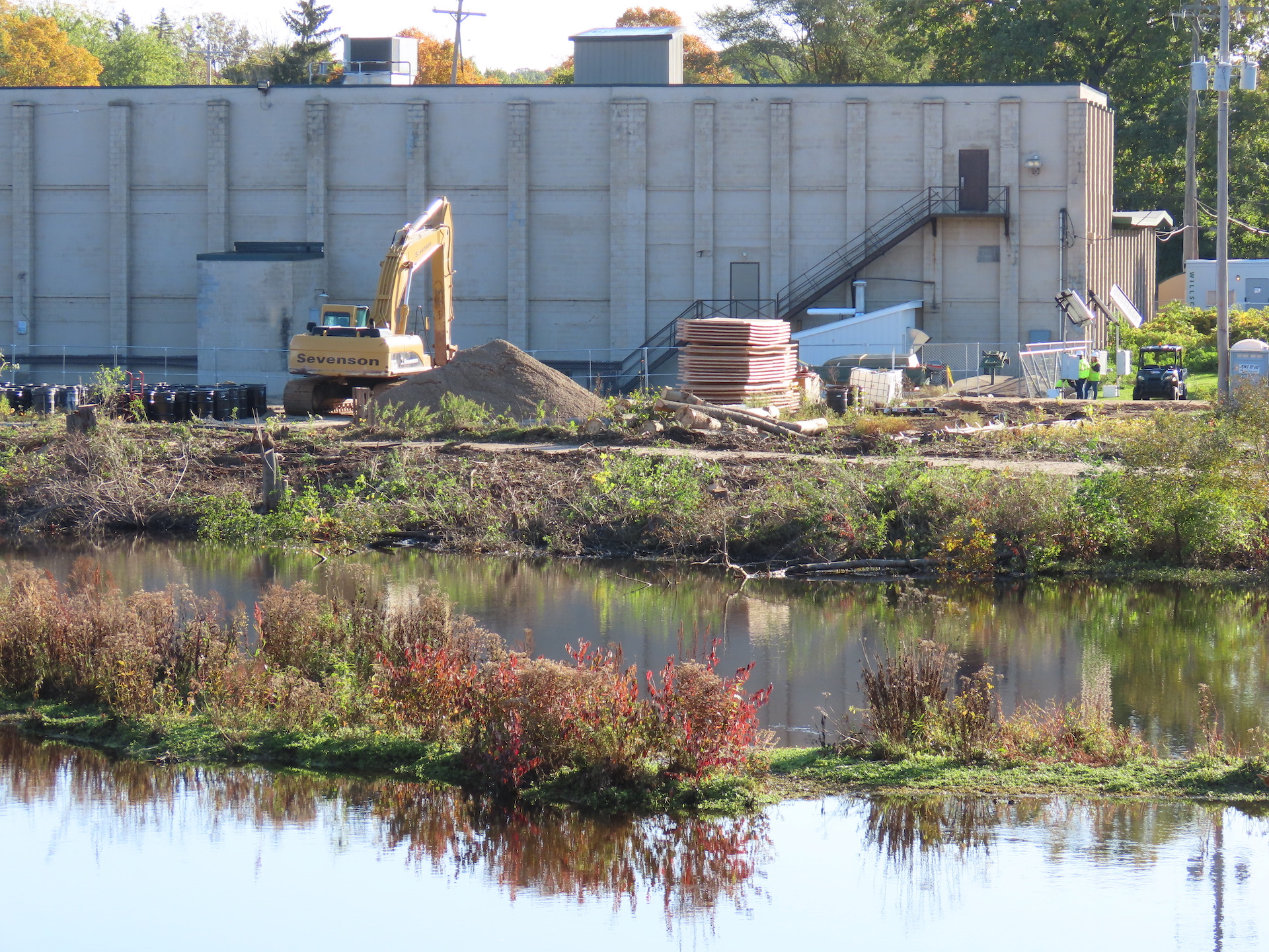 Crews ready polluted Wolverine tannery for excavations