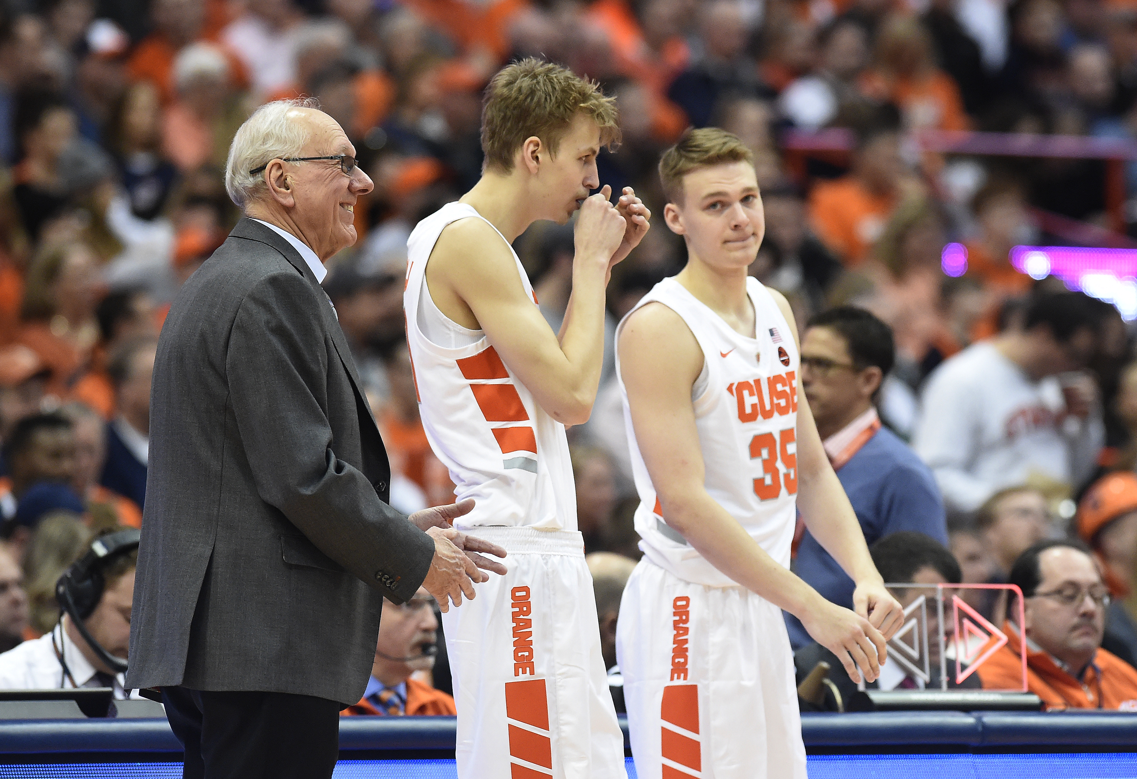 Tip-off times set for Syracuse's ACC basketball games