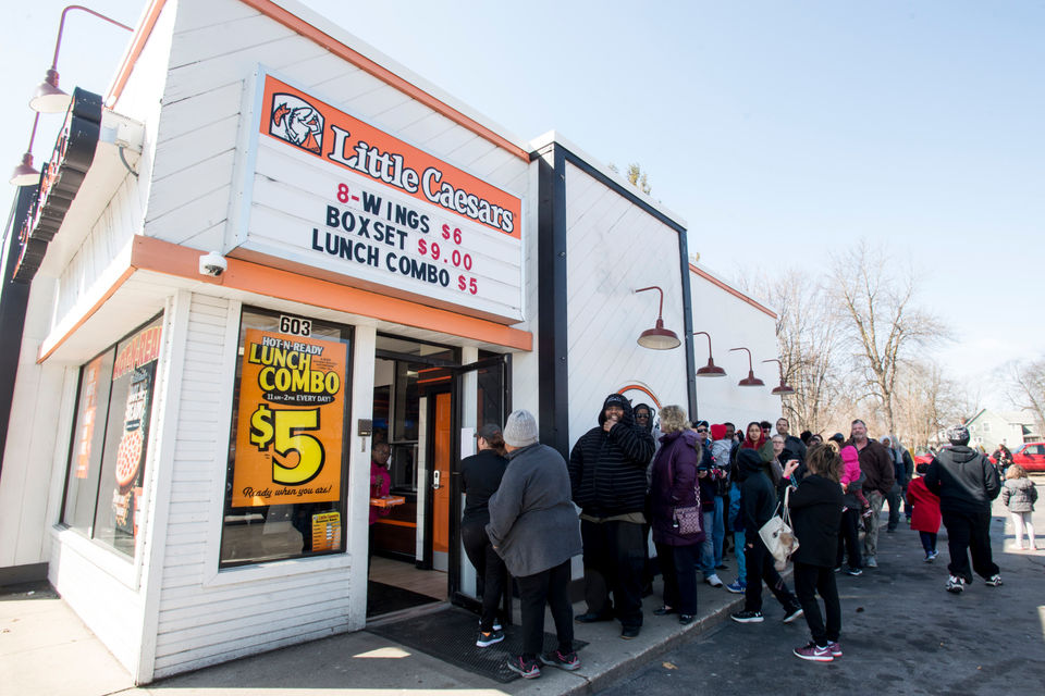 Little Caesars will test pizza with meatless sausage as a topping