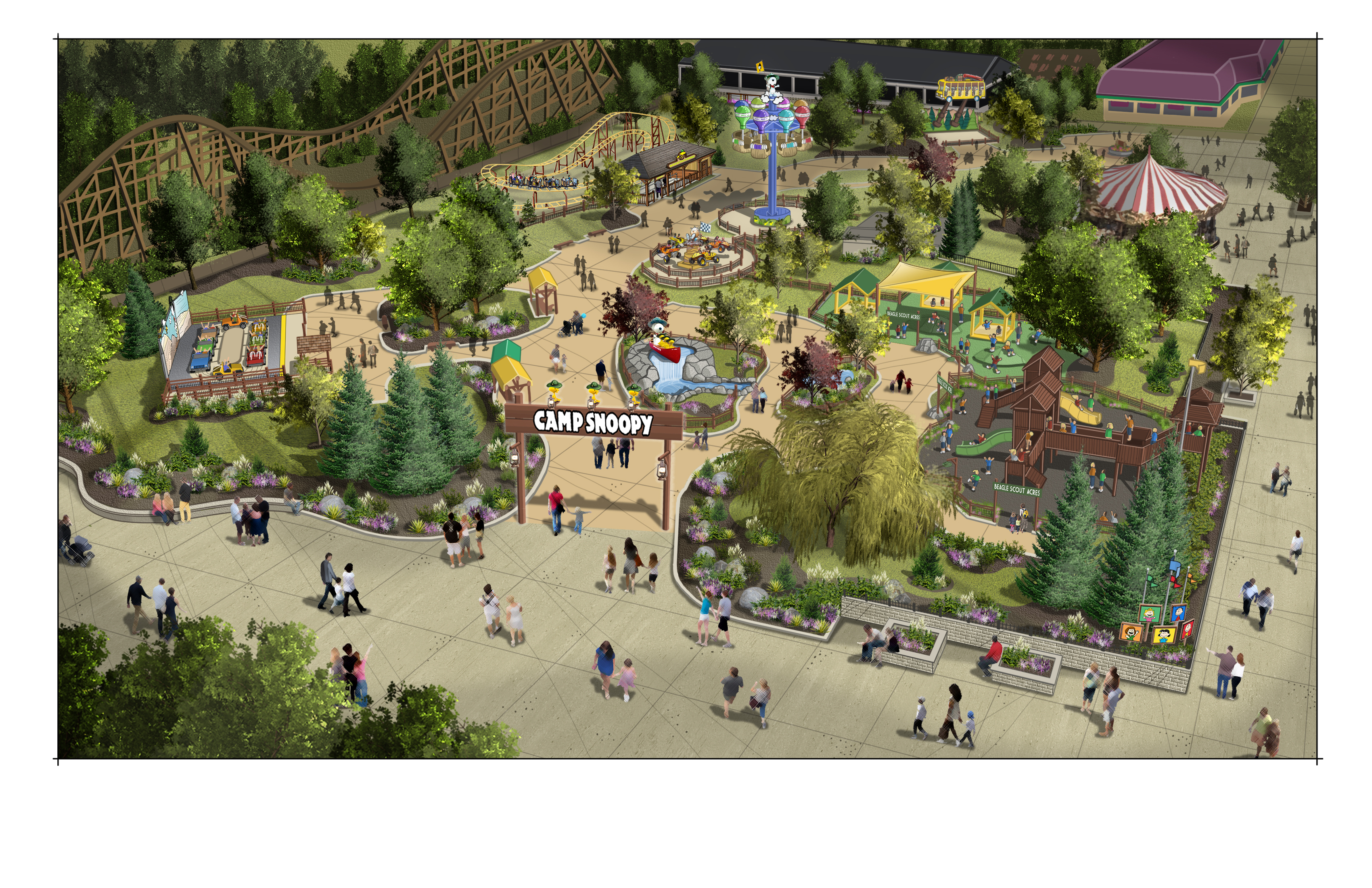 Michigan's Adventure to open Snoopy-themed park in 2020