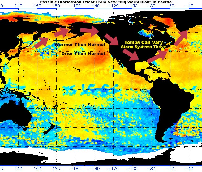 Will 'Big Blob' in Pacific Ocean affect Michigan winter? Yes!