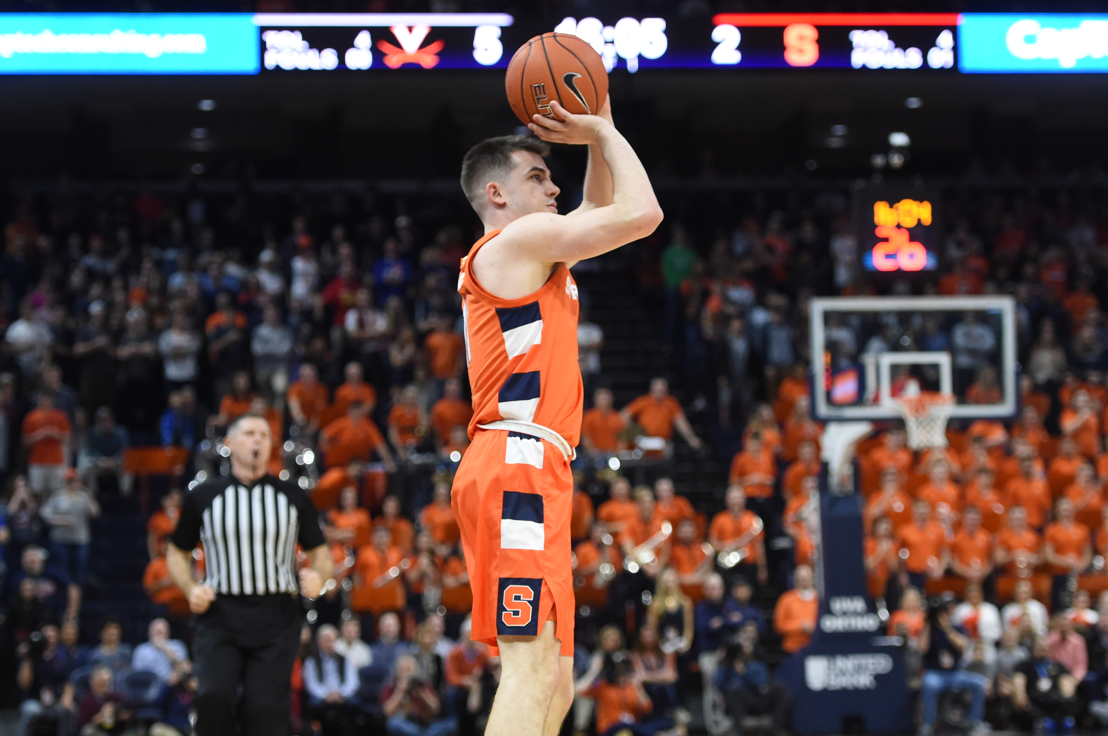 What channel is Syracuse basketball vs. Virginia Tech on? TV, time, stream info