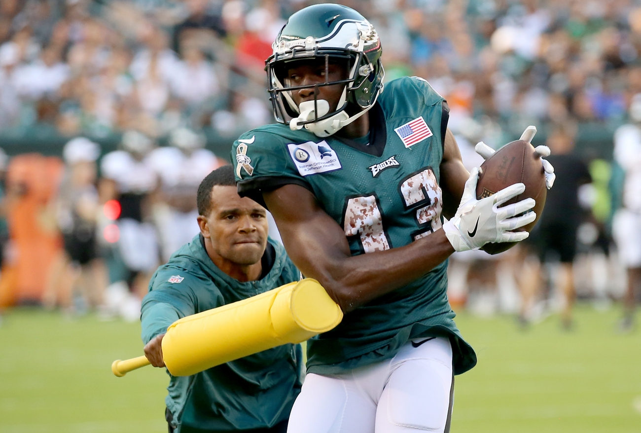 Why didn't Eagles WRs Alshon Jeffery and Nelson Agholor play in loss to Seahawks? Plus updates on Andre Dillard, Brandon Brooks