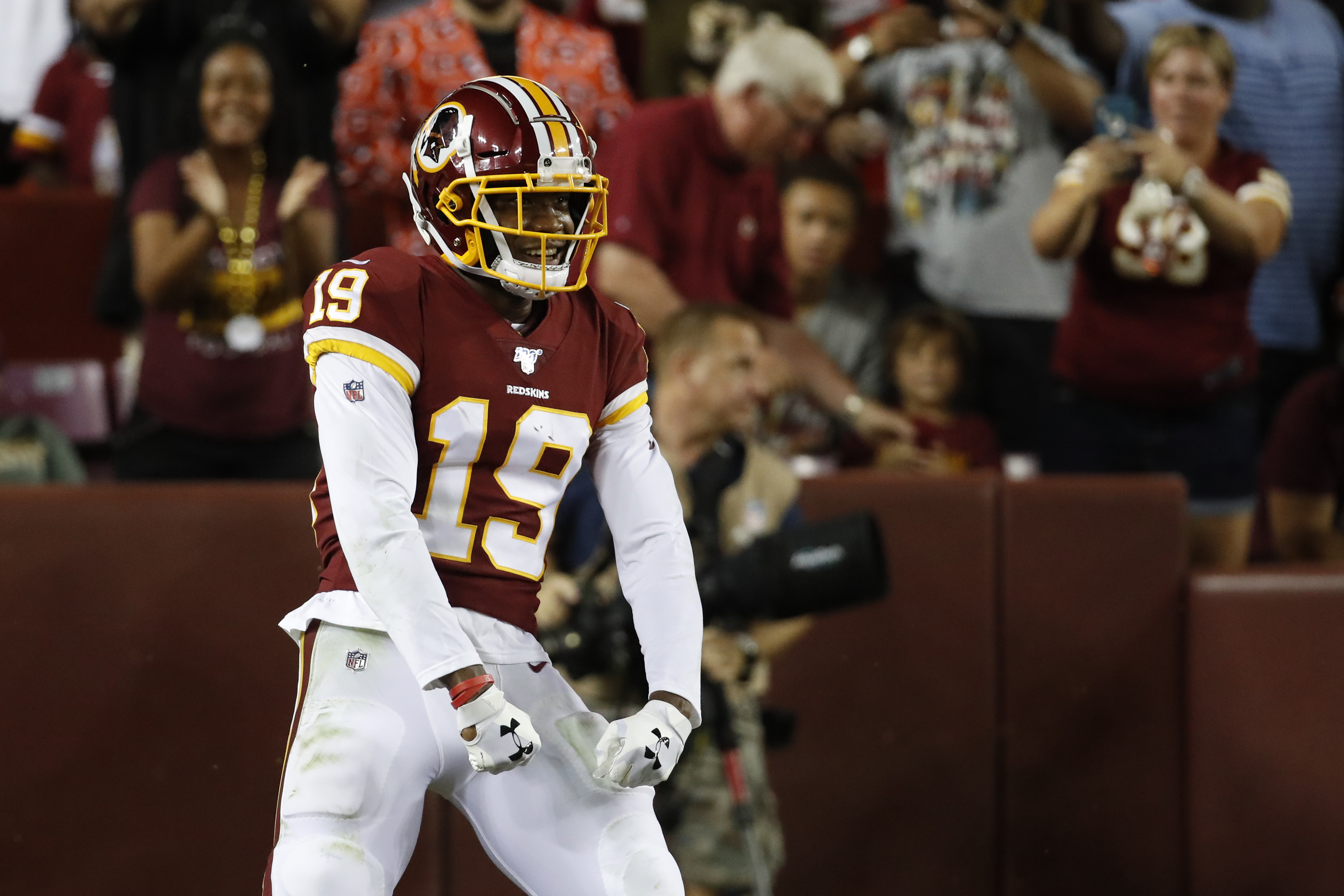 The Eagles (apparently) have best practice squad player in the league in this former Redskins WR