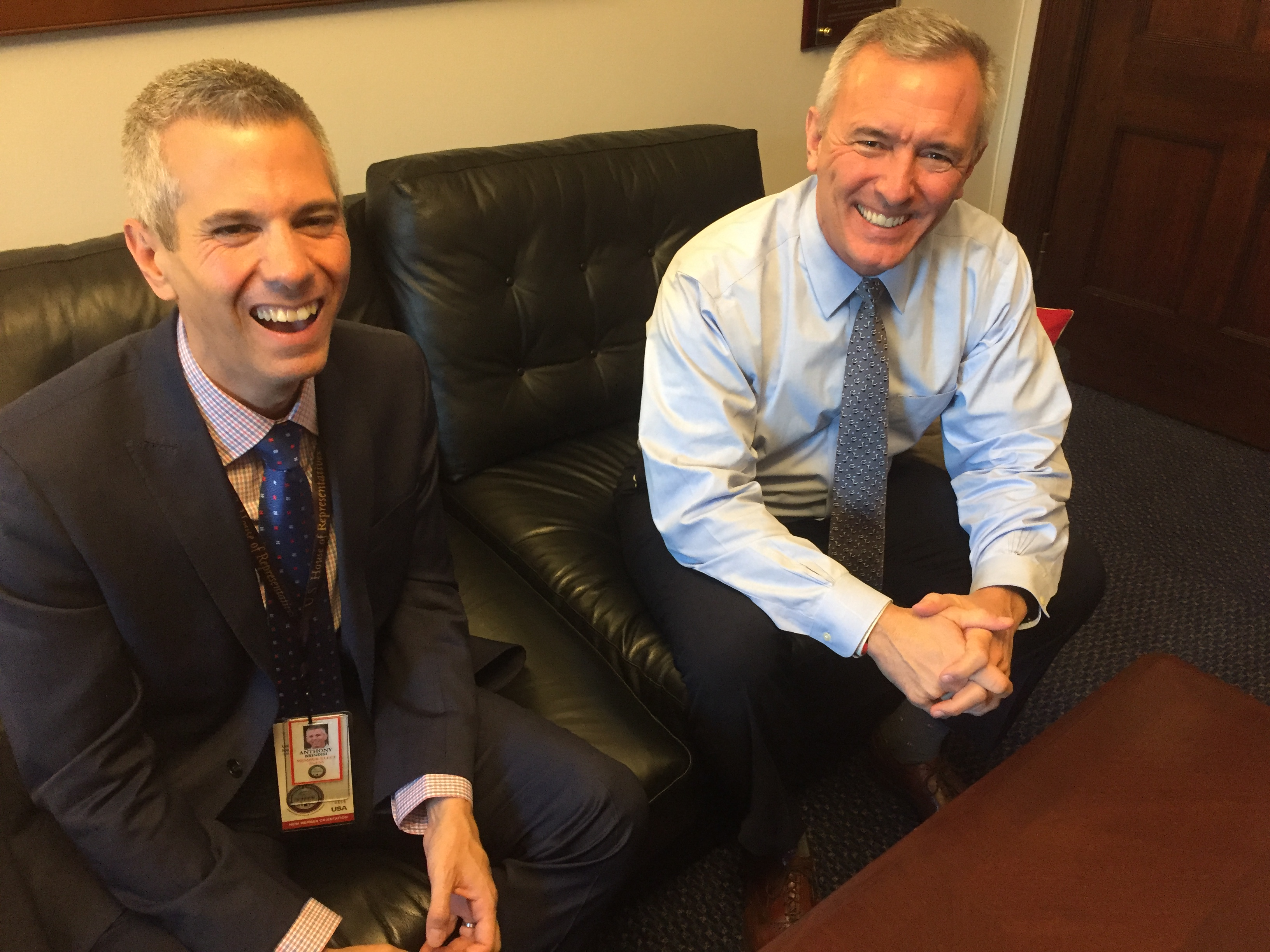 For Katko and Brindisi, Trump is a minefield like few in the House face
