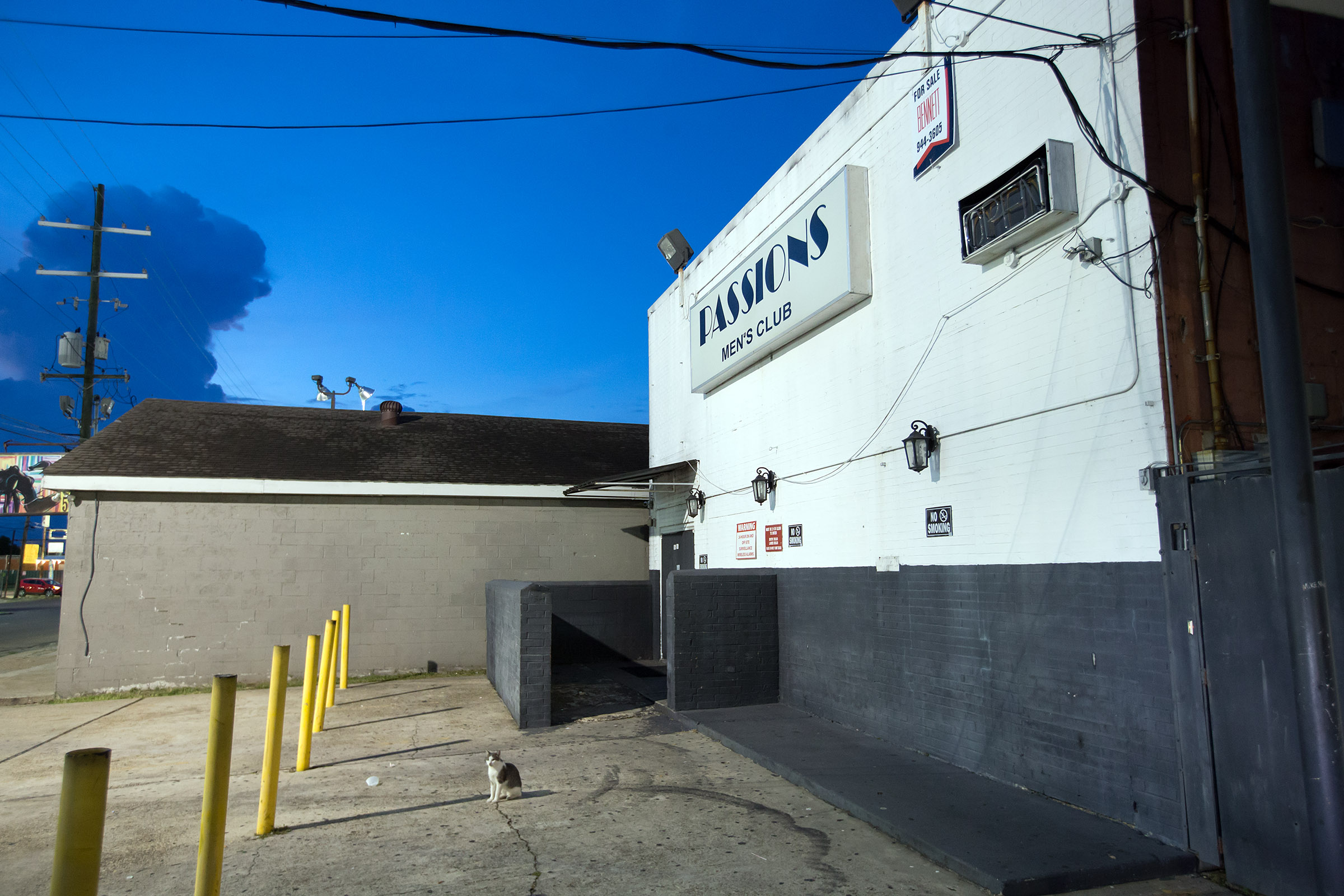 Passions, a strip club at 3921 Downman Road, was among three businesses the Louisiana Office of Alcohol & Tobacco Control raided Aug. 24, 2018 on prostitution and drug charges. The club was cited again Friday, Oct. 19, for serving alcohol without a license. (Photo by David Grunfeld, NOLA.com | The Times-Picayune)