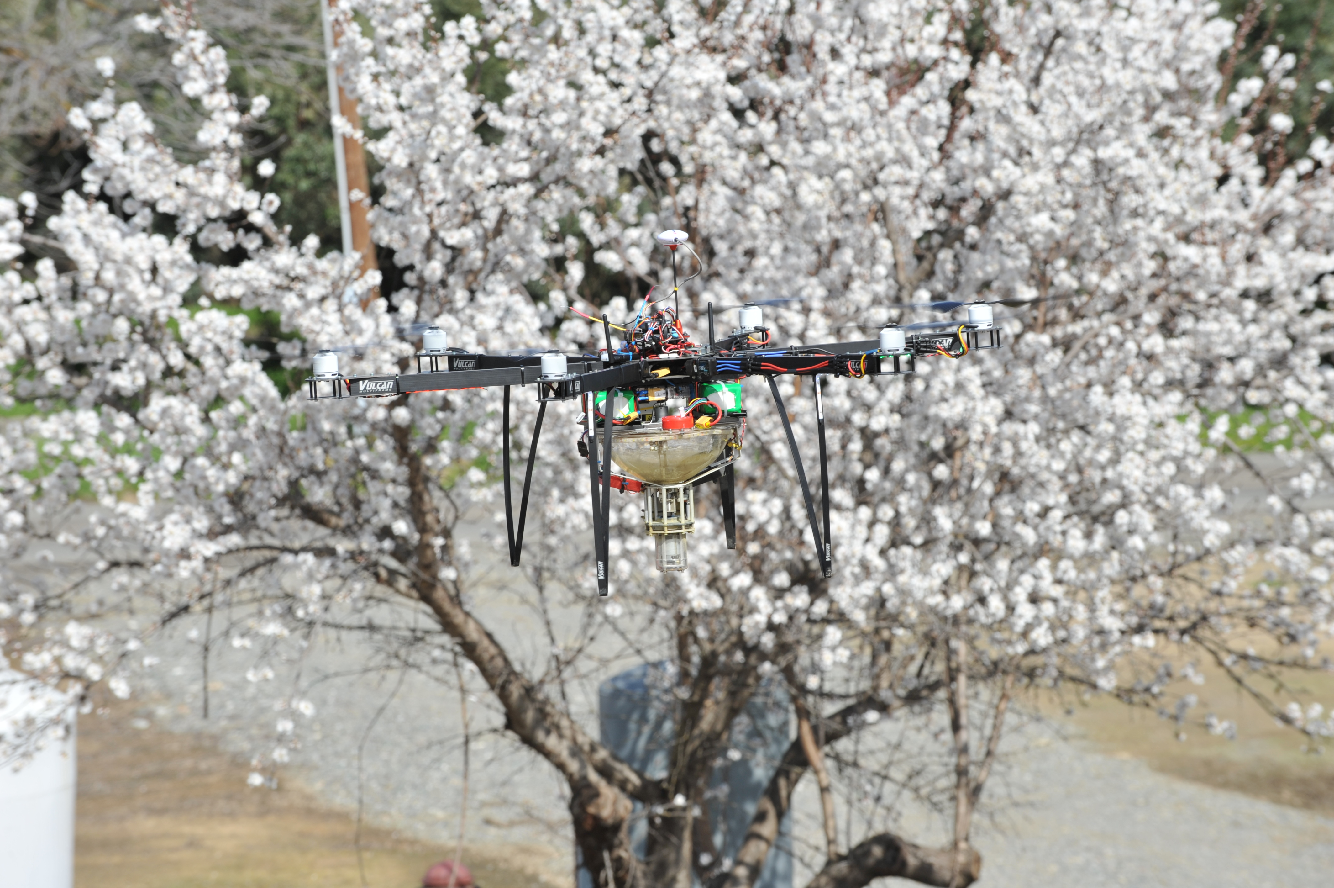 Syracuse drone company offers orchards alternative to bees
