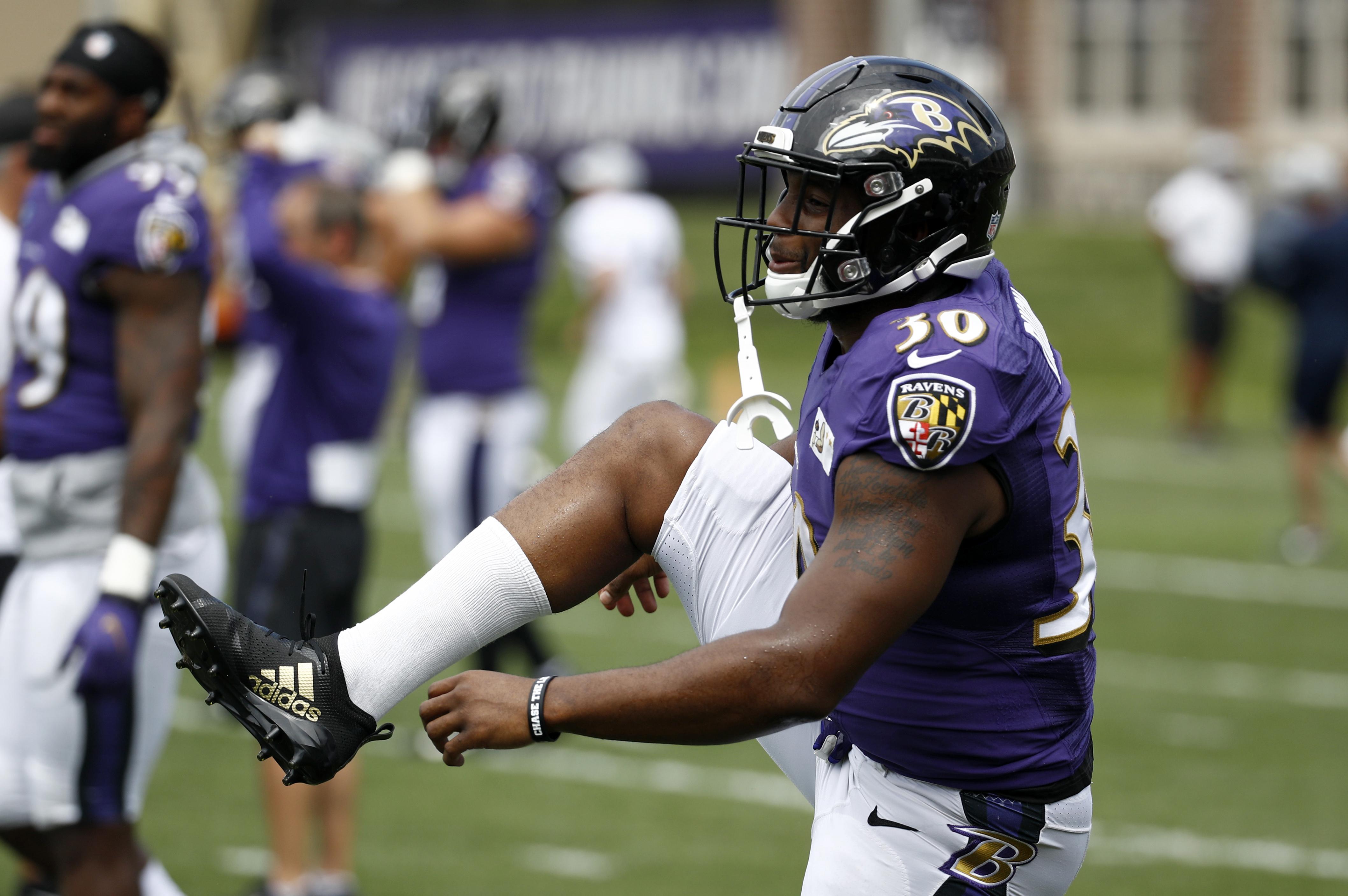 Baltimore Ravens' Kenneth Dixon 'an option' against Falcons, coach ...