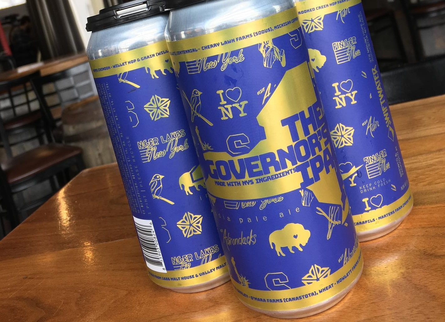 Rochester brewery honors Andrew Cuomo with 'Governor's IPA'