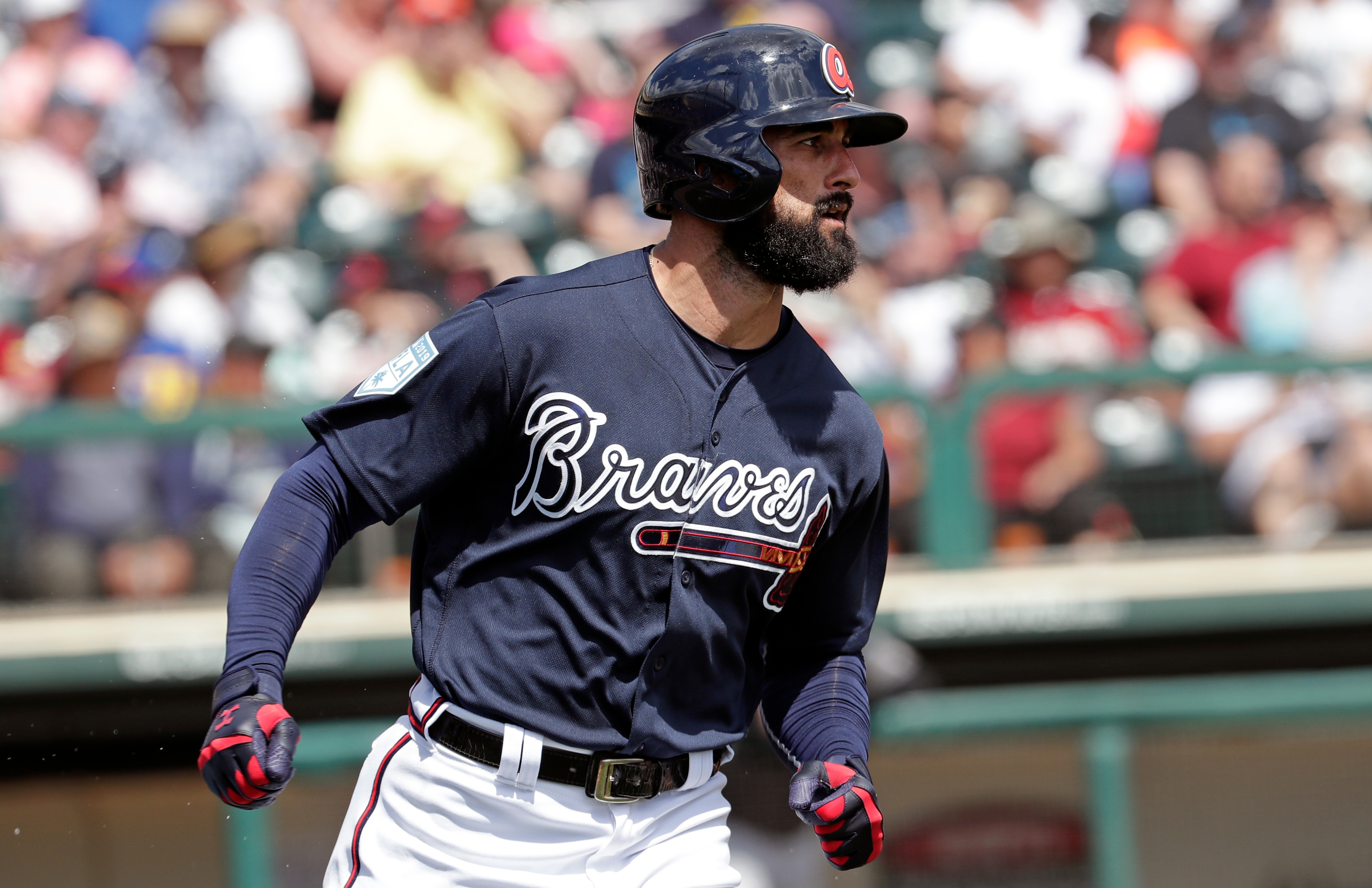MLB rumors: Braves' Nick Markakis says Astros 'needs a beating' for sign-stealing scandal