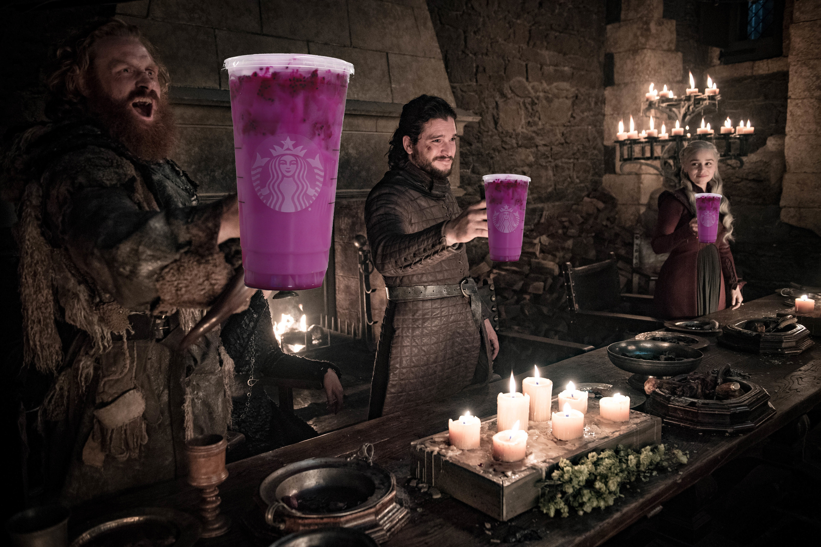 In Honor Of Starbucks Game Of Thrones Cameo I Tried The