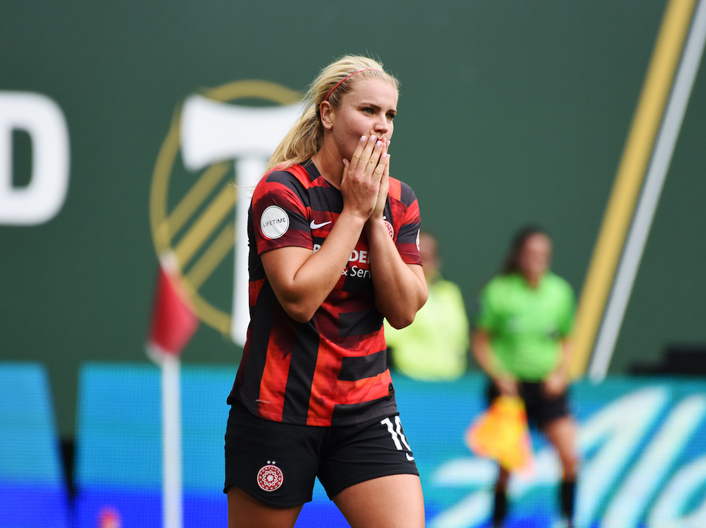 Portland Thorns suffer worst loss in club history with first place in the NWSL on the line