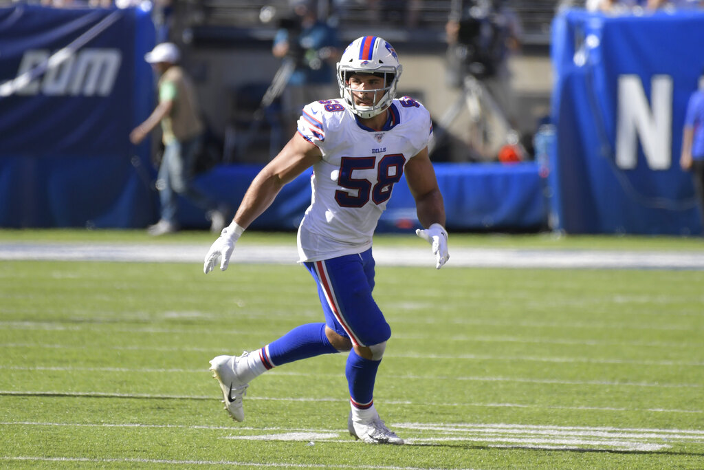 Buffalo Bills 'hopeful' that 'foundational piece of defense' Matt Milano can play vs. Dolphins