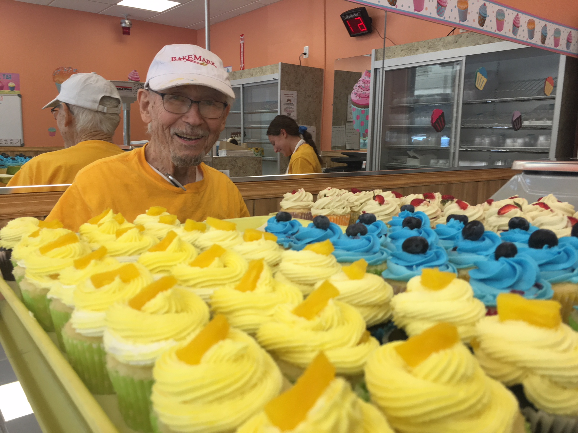 Meet the 93-year-old veteran who just opened up a boozy bakery