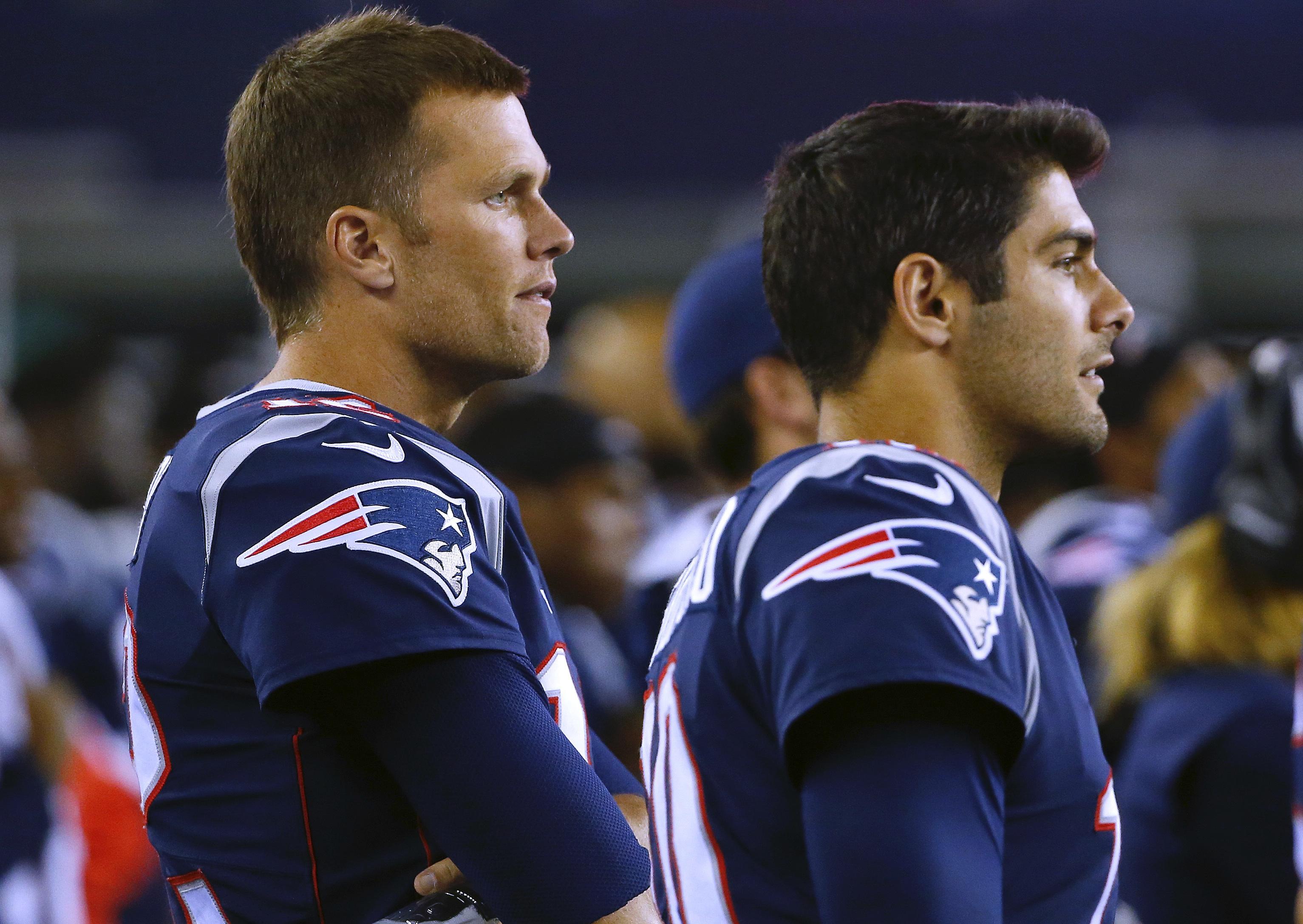 Super Bowl 2020: 49ers' Jimmy Garoppolo shares Patriots' Tom ...