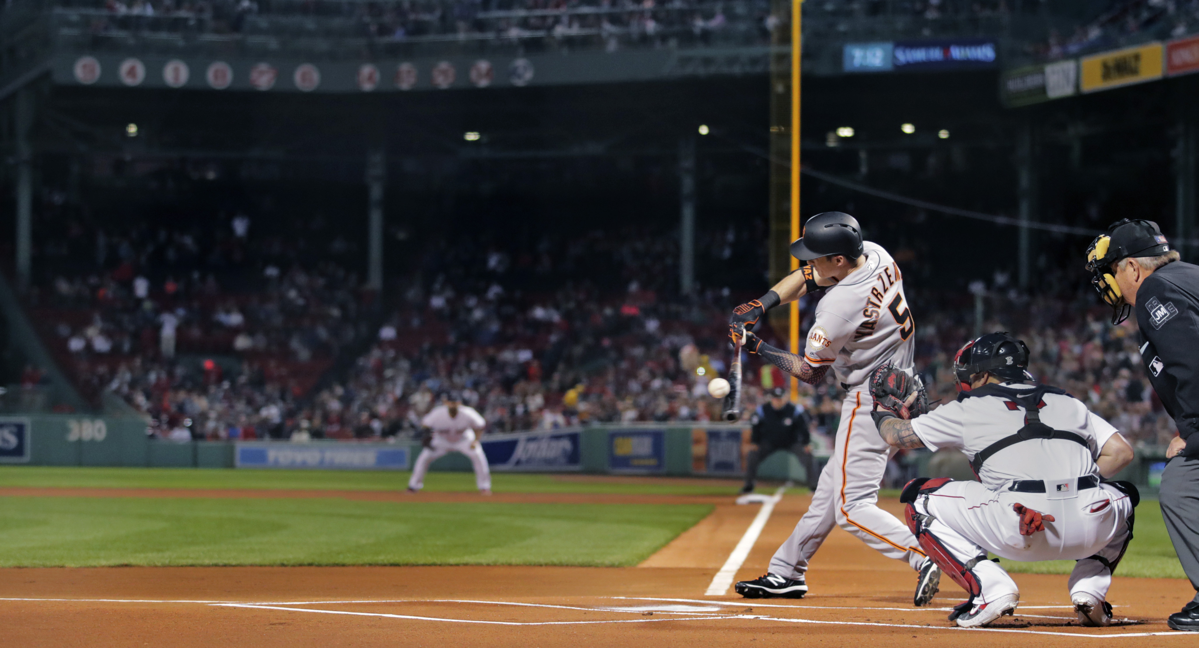 Image result for mike yaz fenway home run