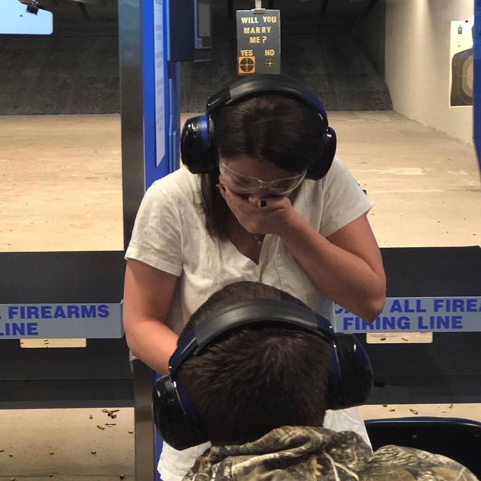 N.J. man's marriage proposal was right on target - literally